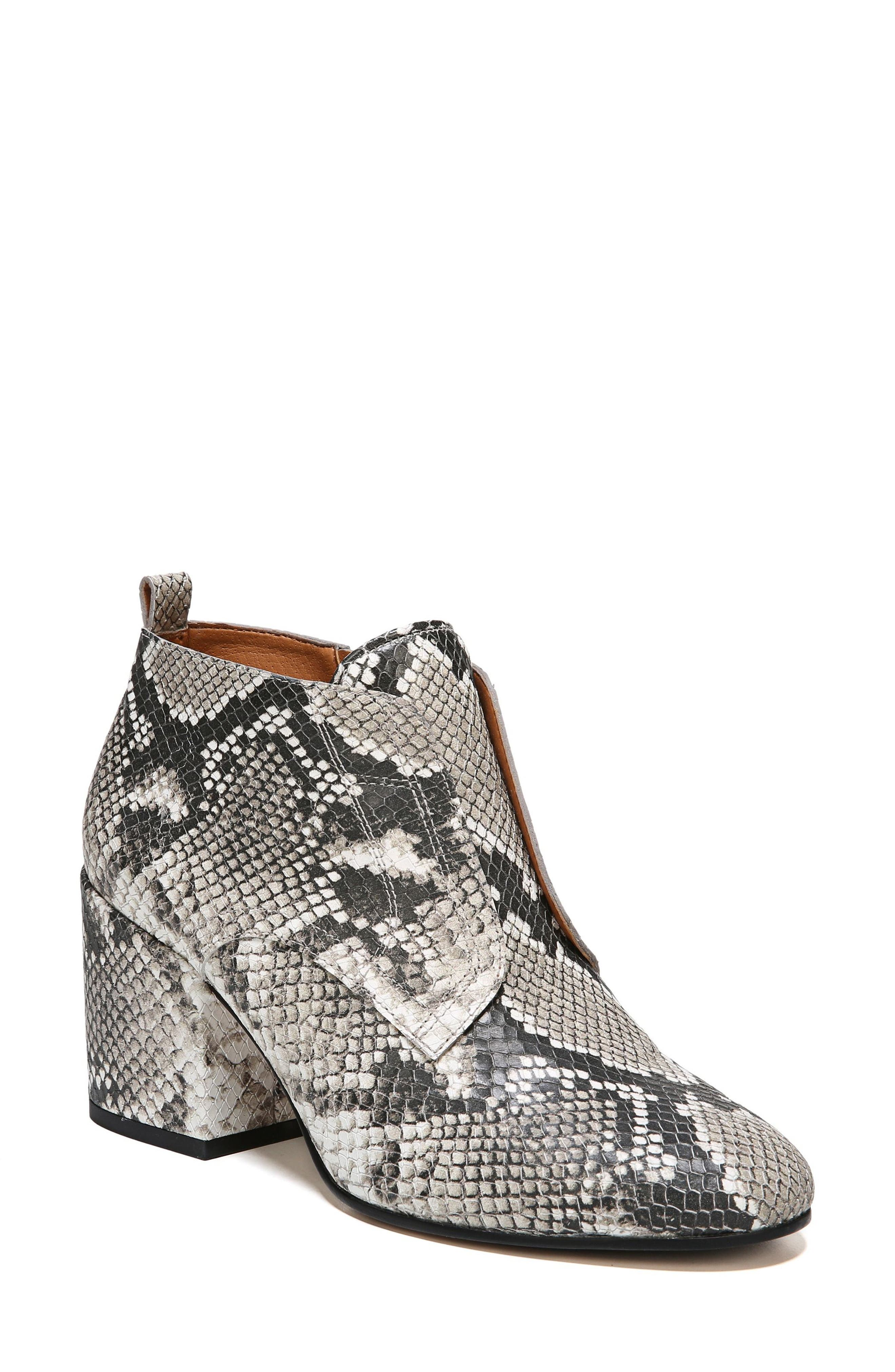 Alfie Bootie,                             Main thumbnail 1, color,                             Natural Snake Leather
