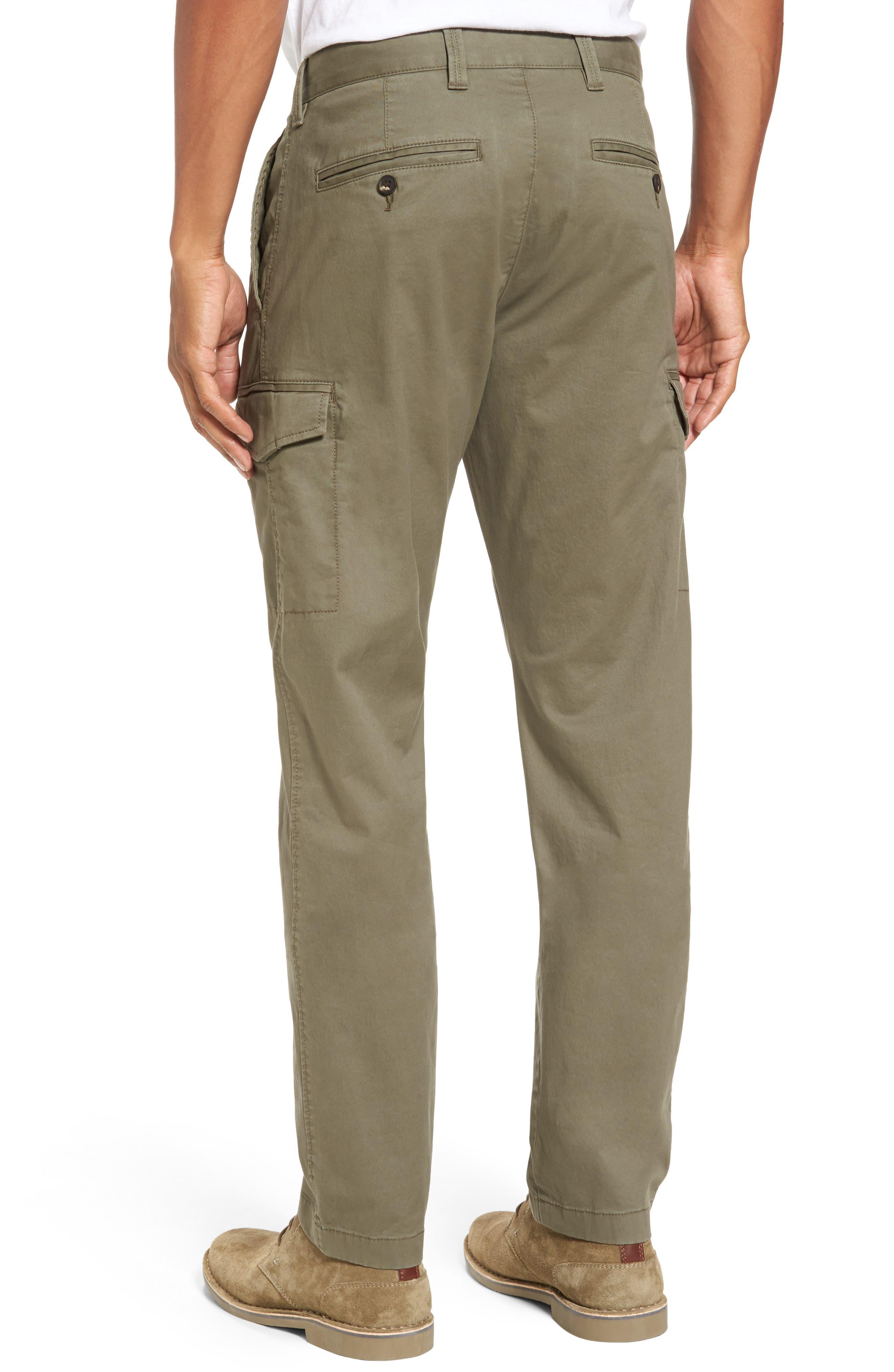 Regular Fit Cargo Pants,                             Alternate thumbnail 2, color,                             Olive Grove