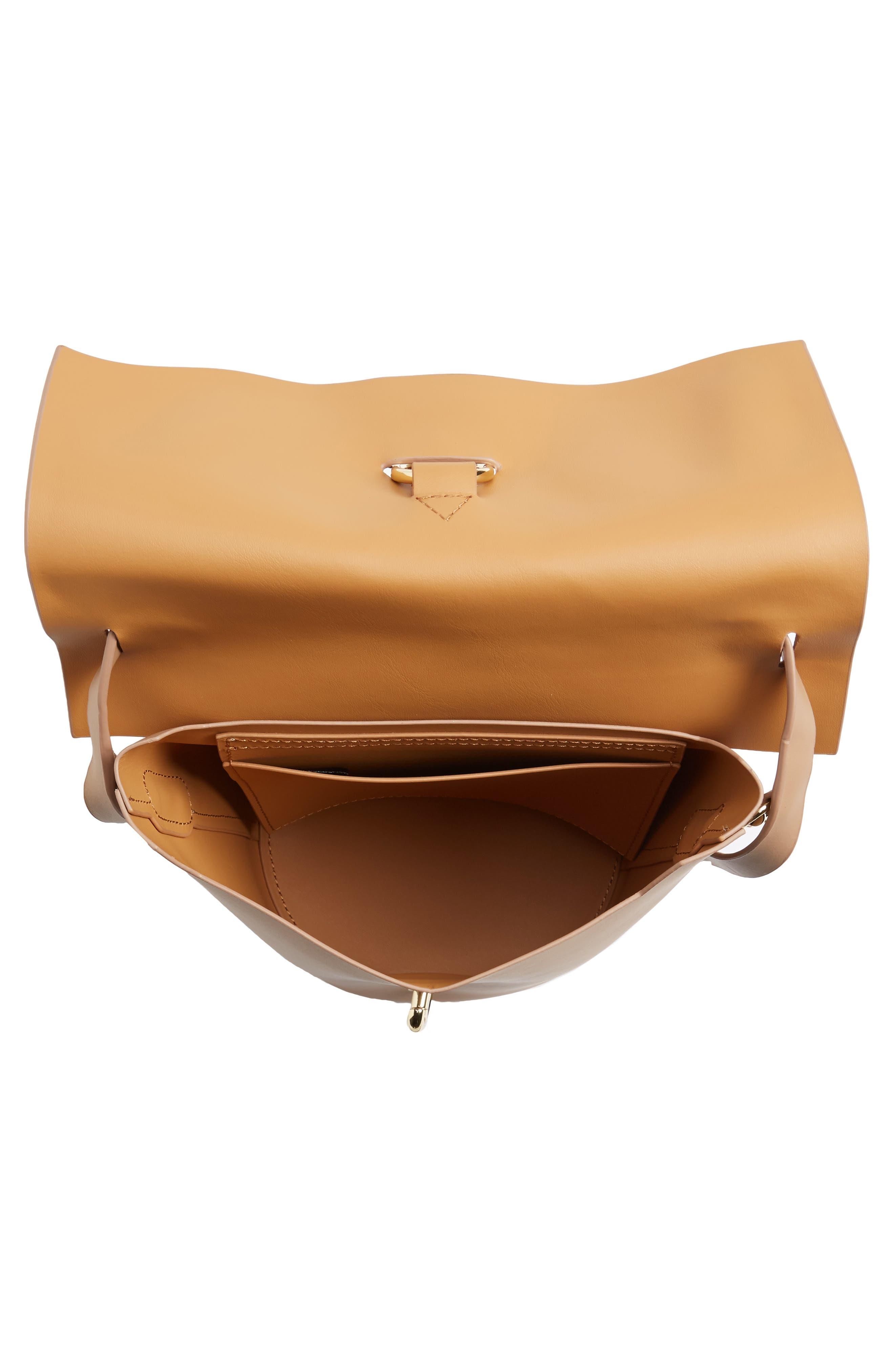 Alternate Image 4  - ZAC Zac Posen Belay Leather Crossbody Bucket Bag
