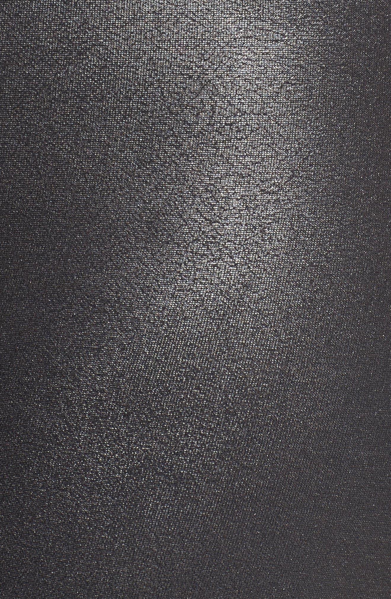 Alternate Image 6  - SPANX® High Waist Moto Leggings (Plus Size)