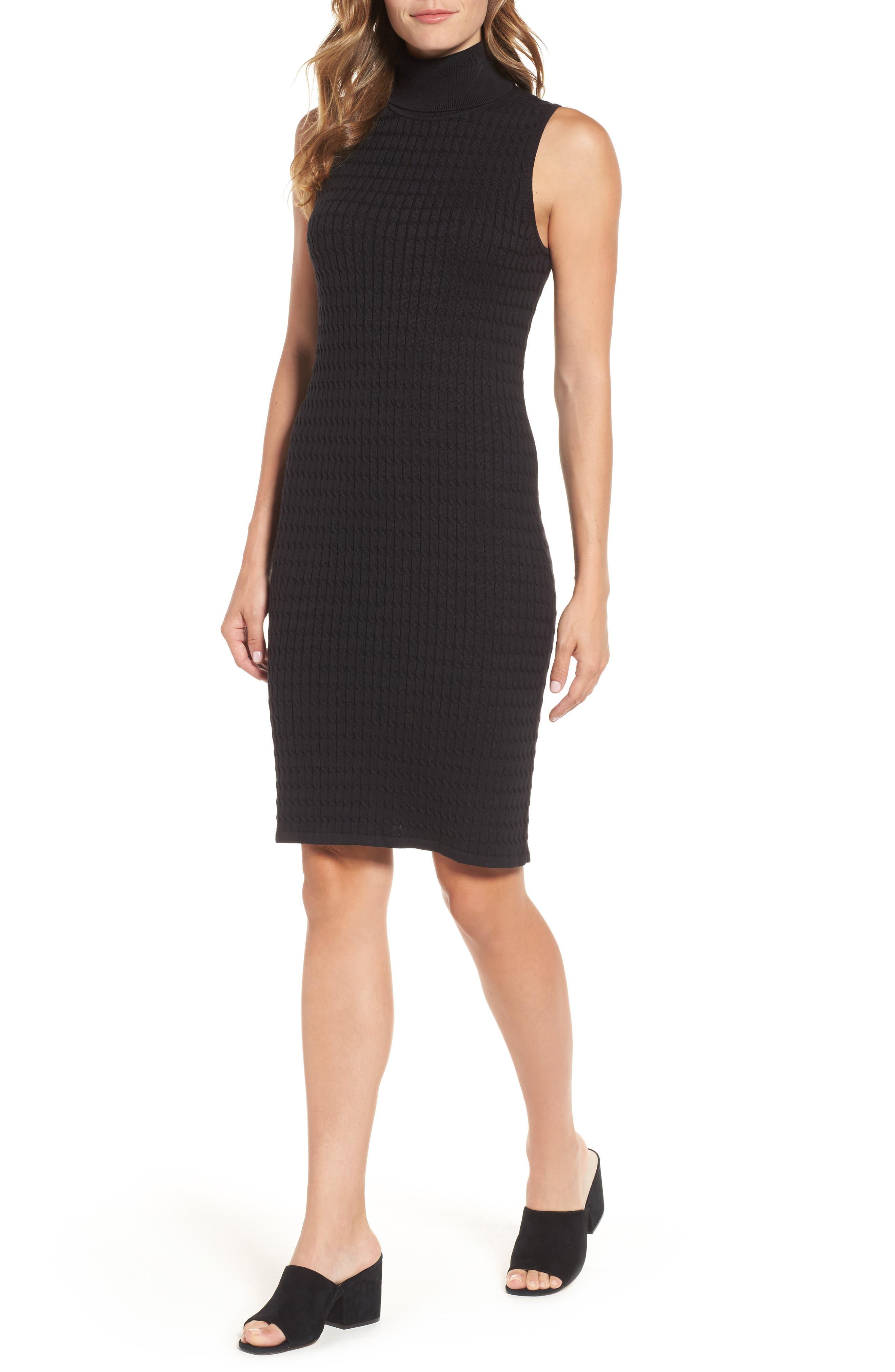 Alternate Image 1 Selected - Tommy Bahama Sleeveless Turtleneck Dress