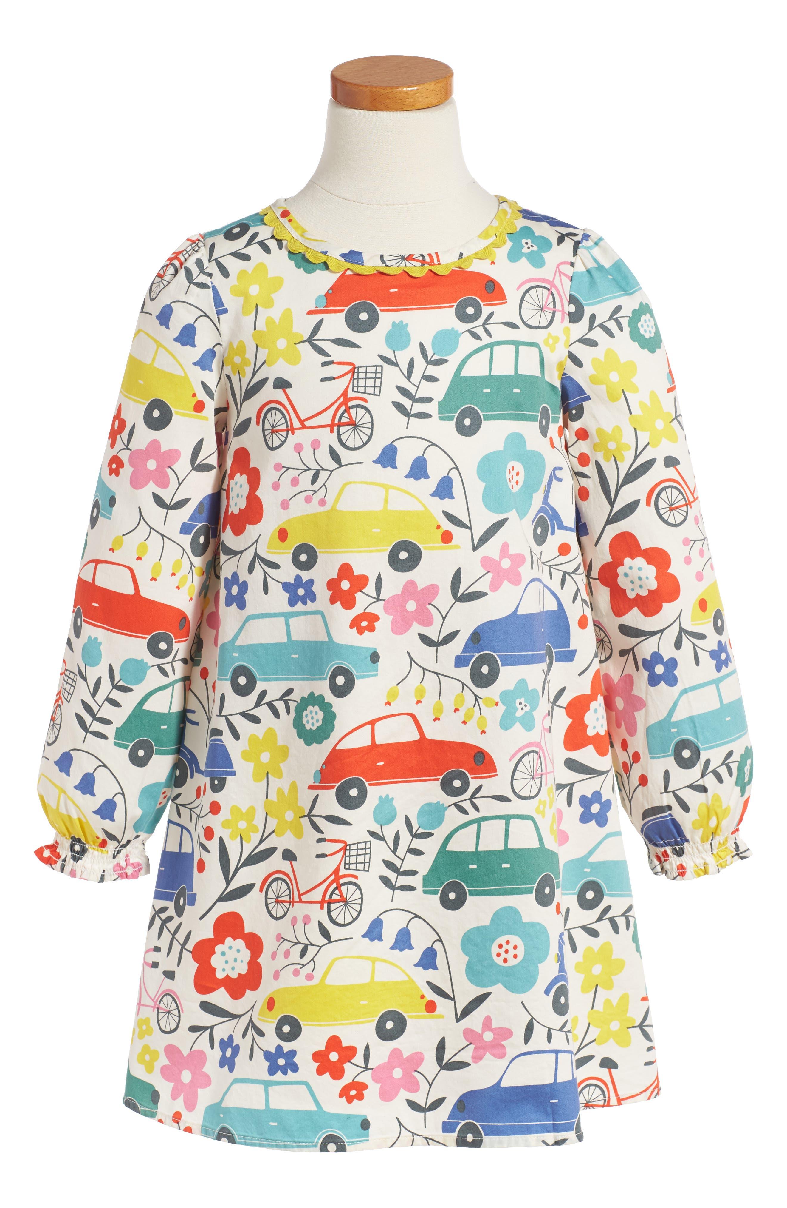 Mini Boden Fun Dress (Toddler Girls, Little Girls & Big Girls)