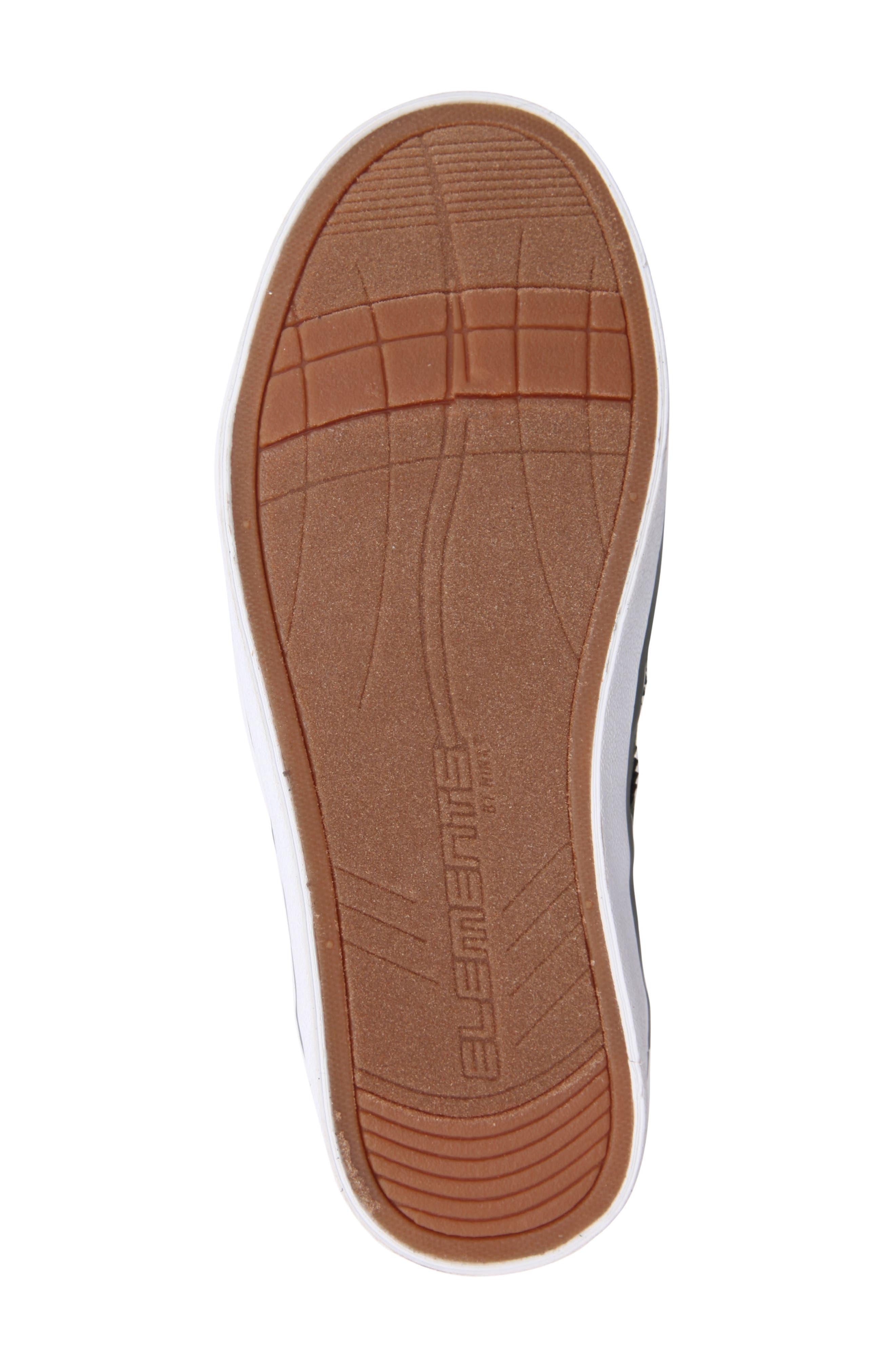 Wingtip Sneaker,                             Alternate thumbnail 6, color,                             Olive Faux Suede