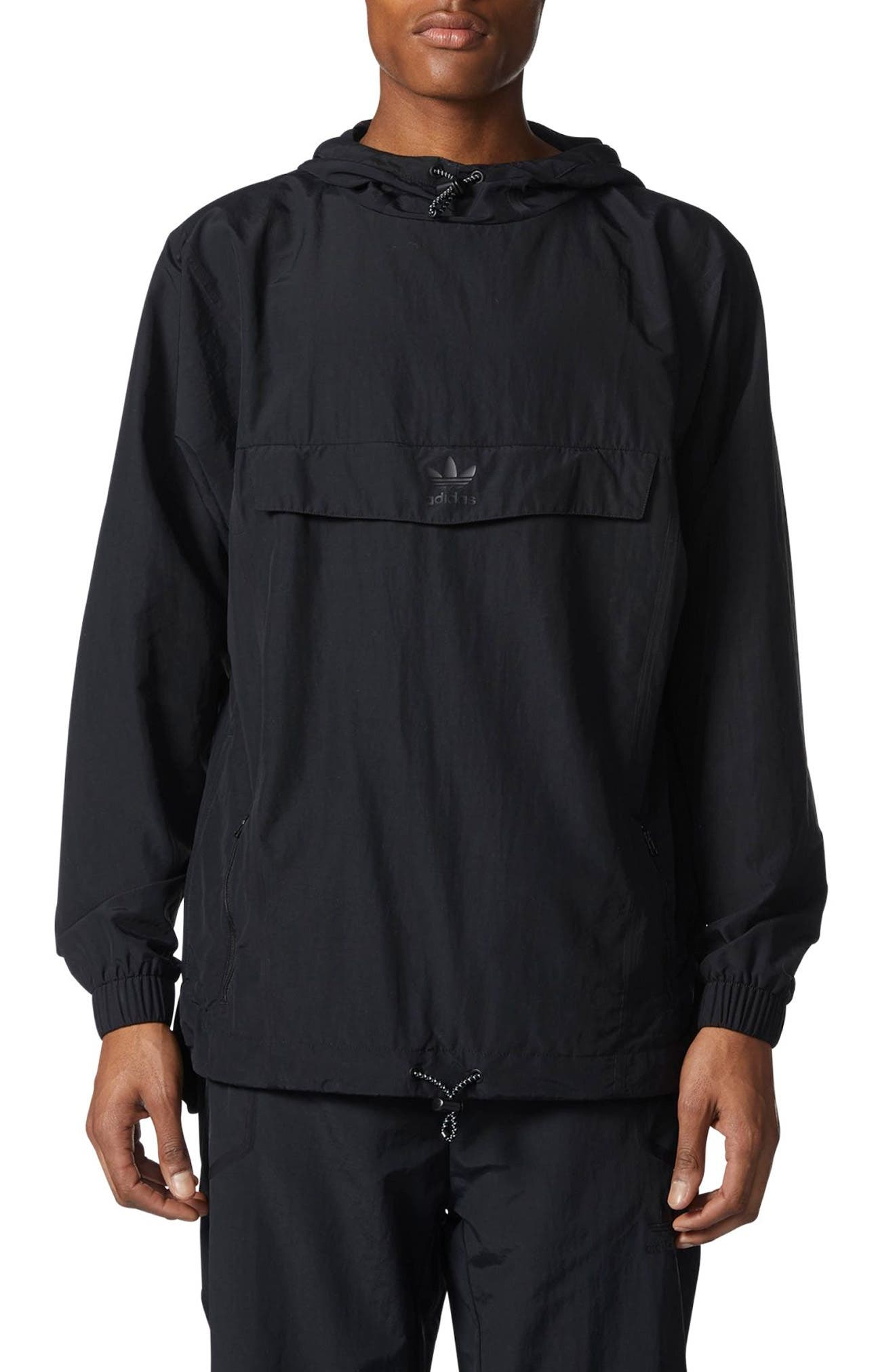 Alternate Image 1 Selected - adidas Originals Taped Anorak