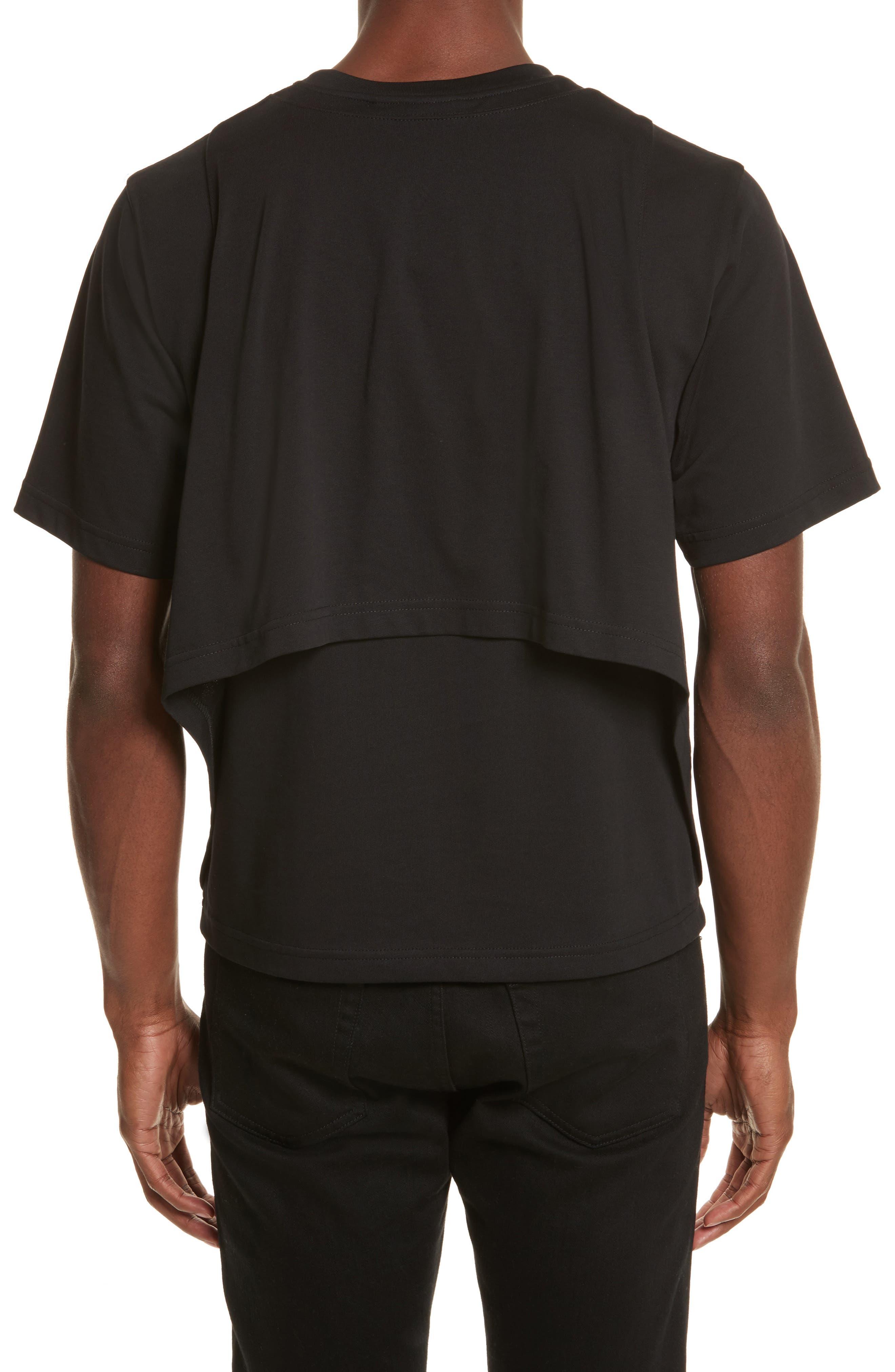 Alternate Image 2  - Helmut Lang Drape Military Jersey T-Shirt
