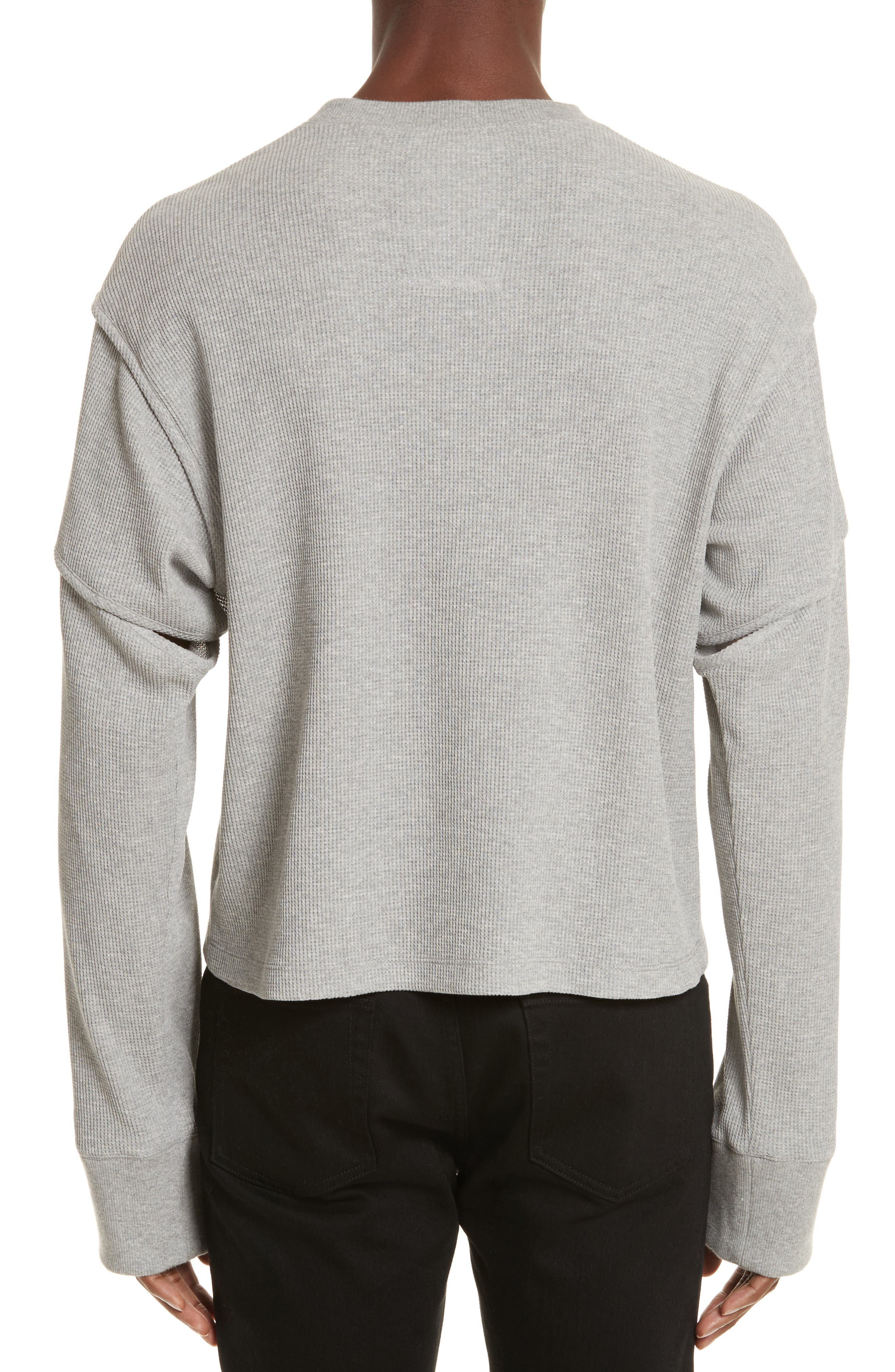 Alternate Image 2  - Helmut Lang Military Panel Sleeve Thermal Shirt