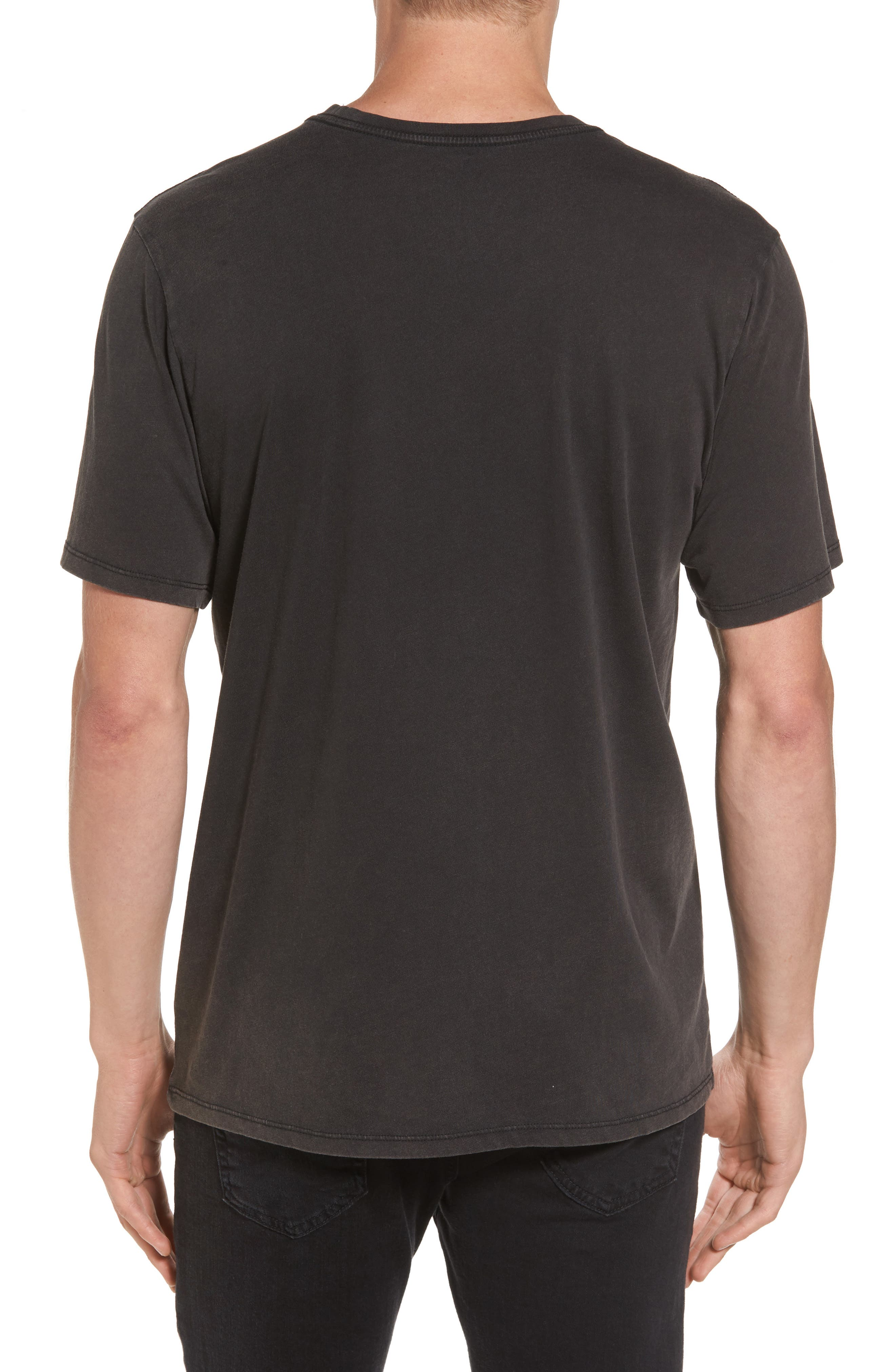 Respect the Swell T-Shirt,                             Alternate thumbnail 2, color,                             Black