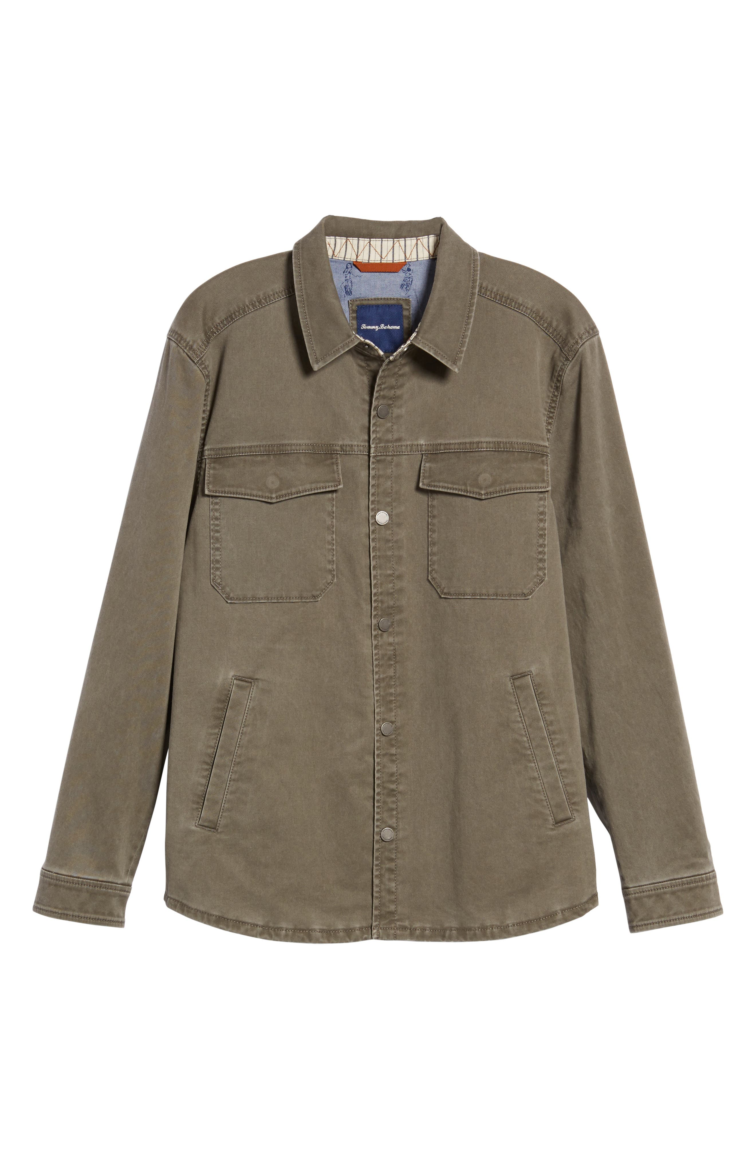 Alternate Image 6  - Tommy Bahama Sea Glass Shirt Jacket