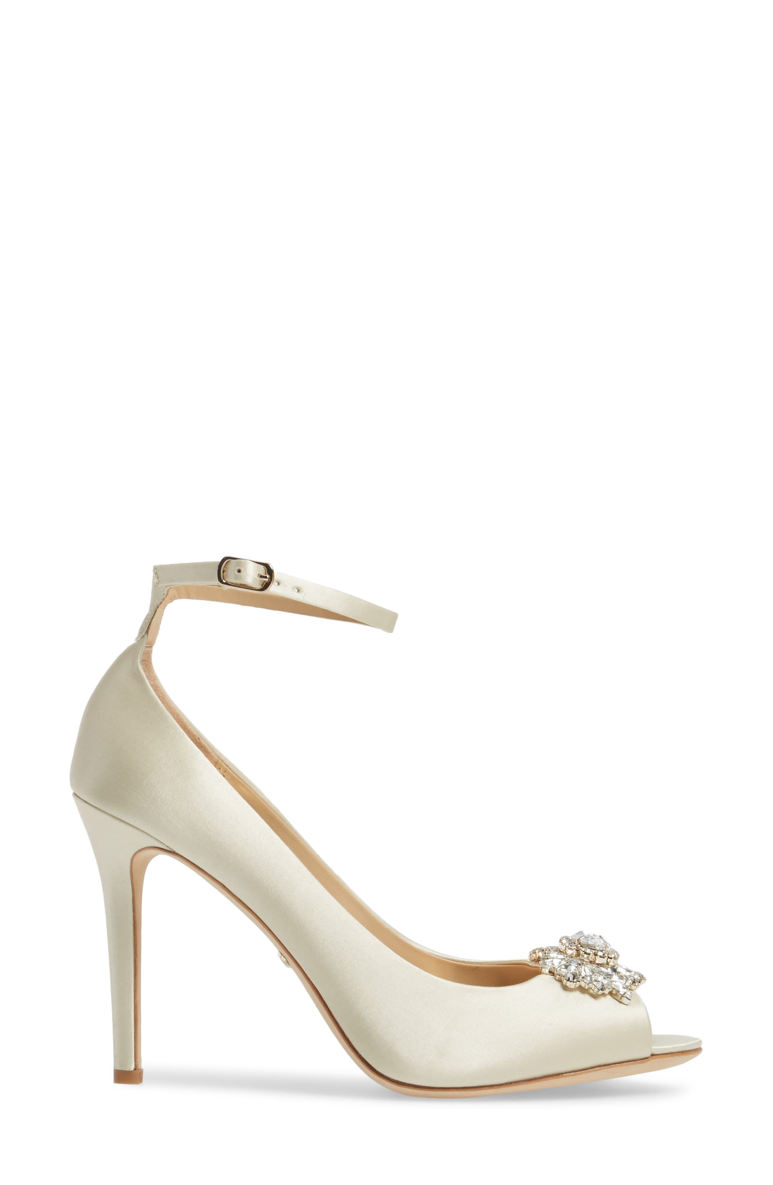 Alternate Image 3  - Badgley Mischka Kali Ankle Strap Pump (Women)