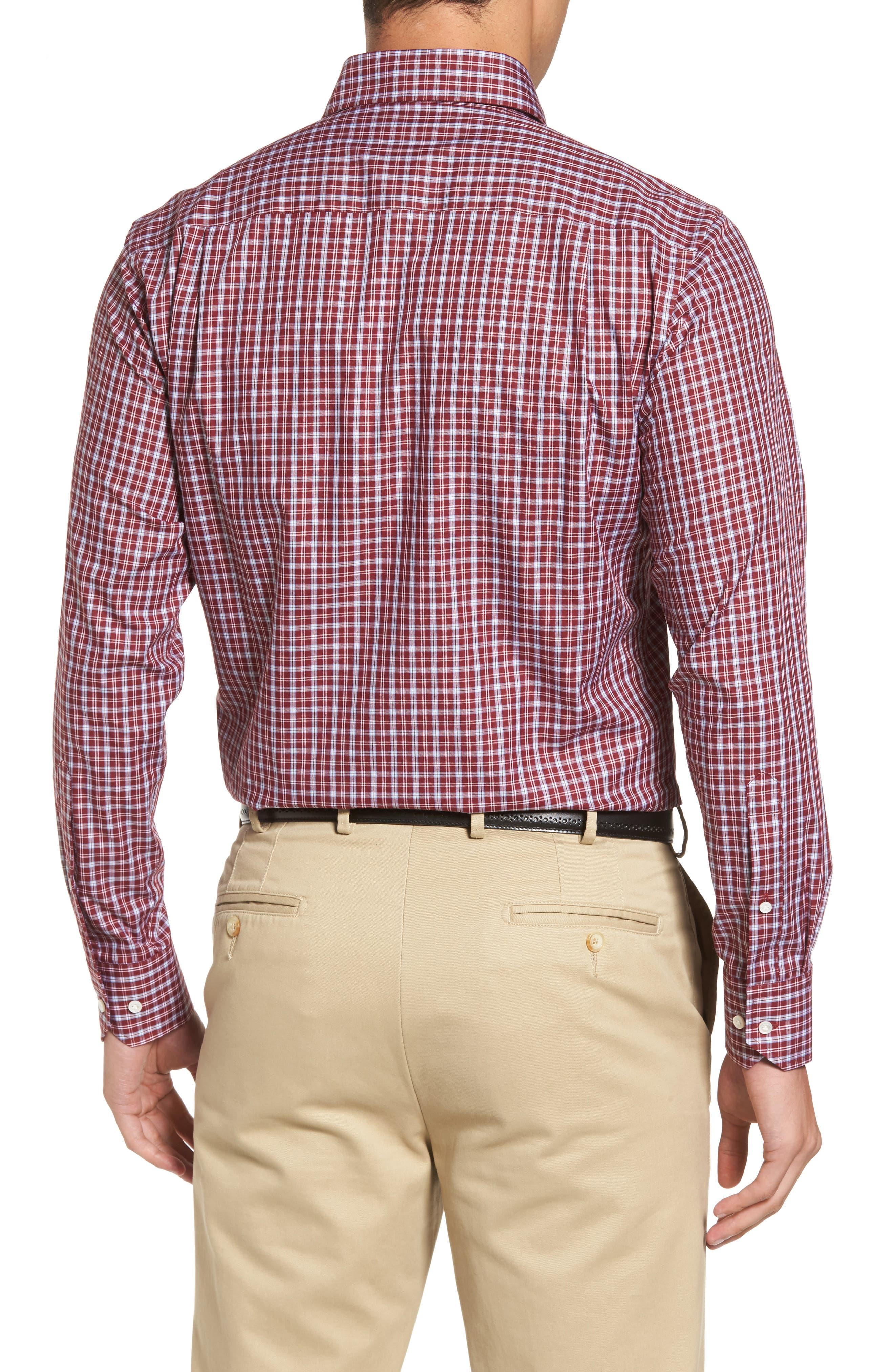 Alternate Image 2  - Peter Millar Isle Check Regular Fit Sport Shirt