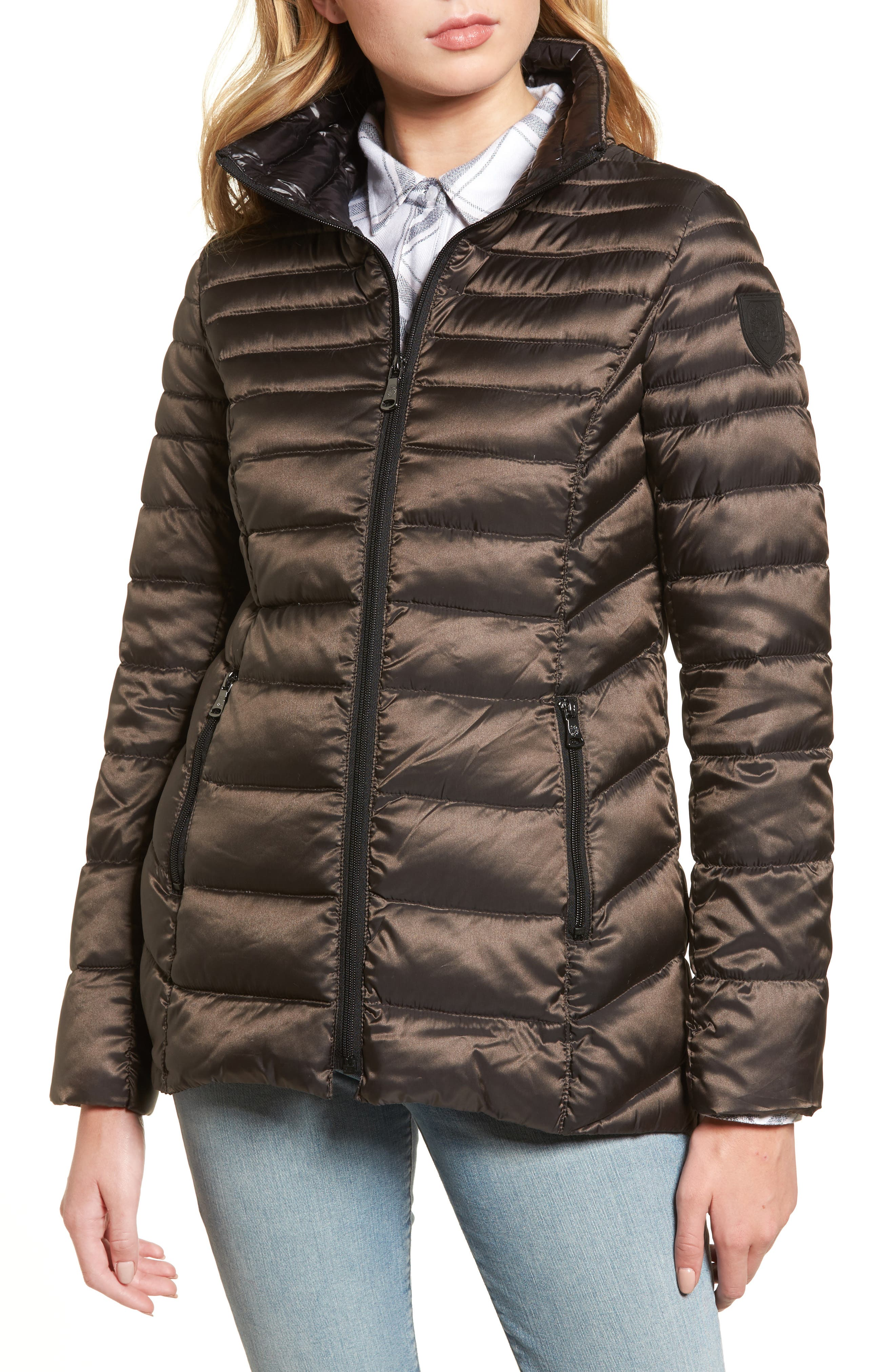 Alternate Image 4  - Vince Camuto Packable Down Jacket