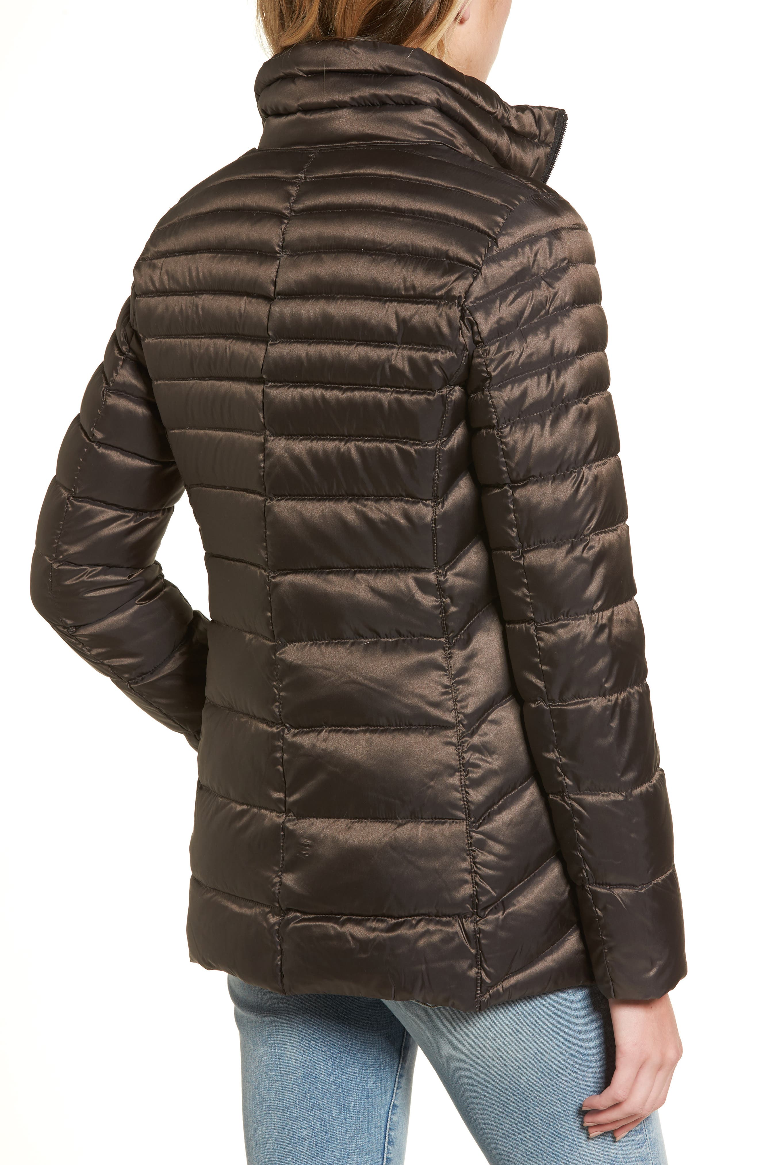 Alternate Image 2  - Vince Camuto Packable Down Jacket