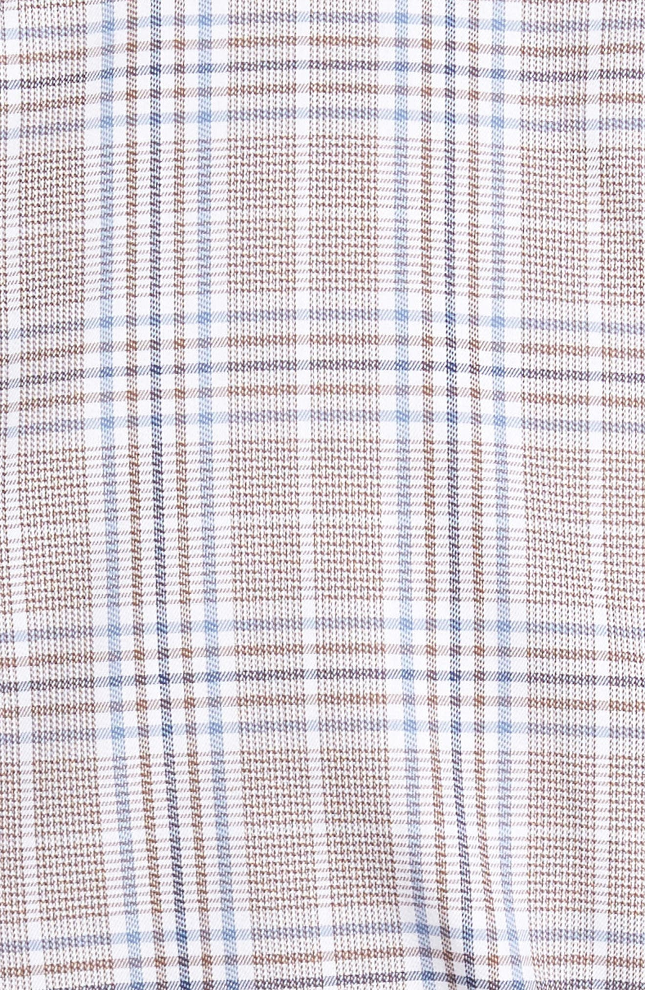 Alternate Image 5  - Peter Millar River Glen Plaid Regular Fit Sport Shirt