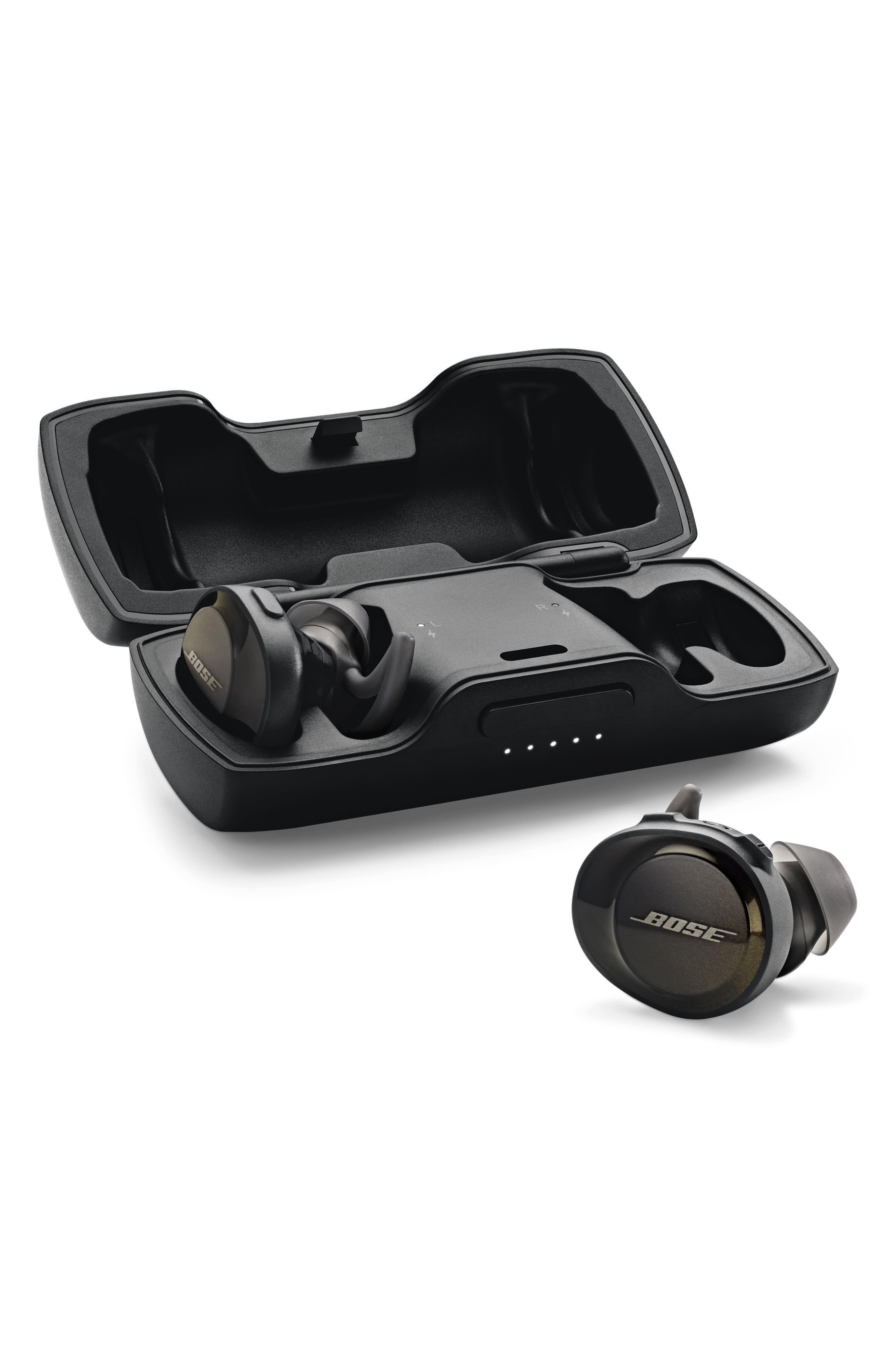SoundSport<sup>®</sup> Free Wireless Headphones,                             Alternate thumbnail 8, color,                             Black