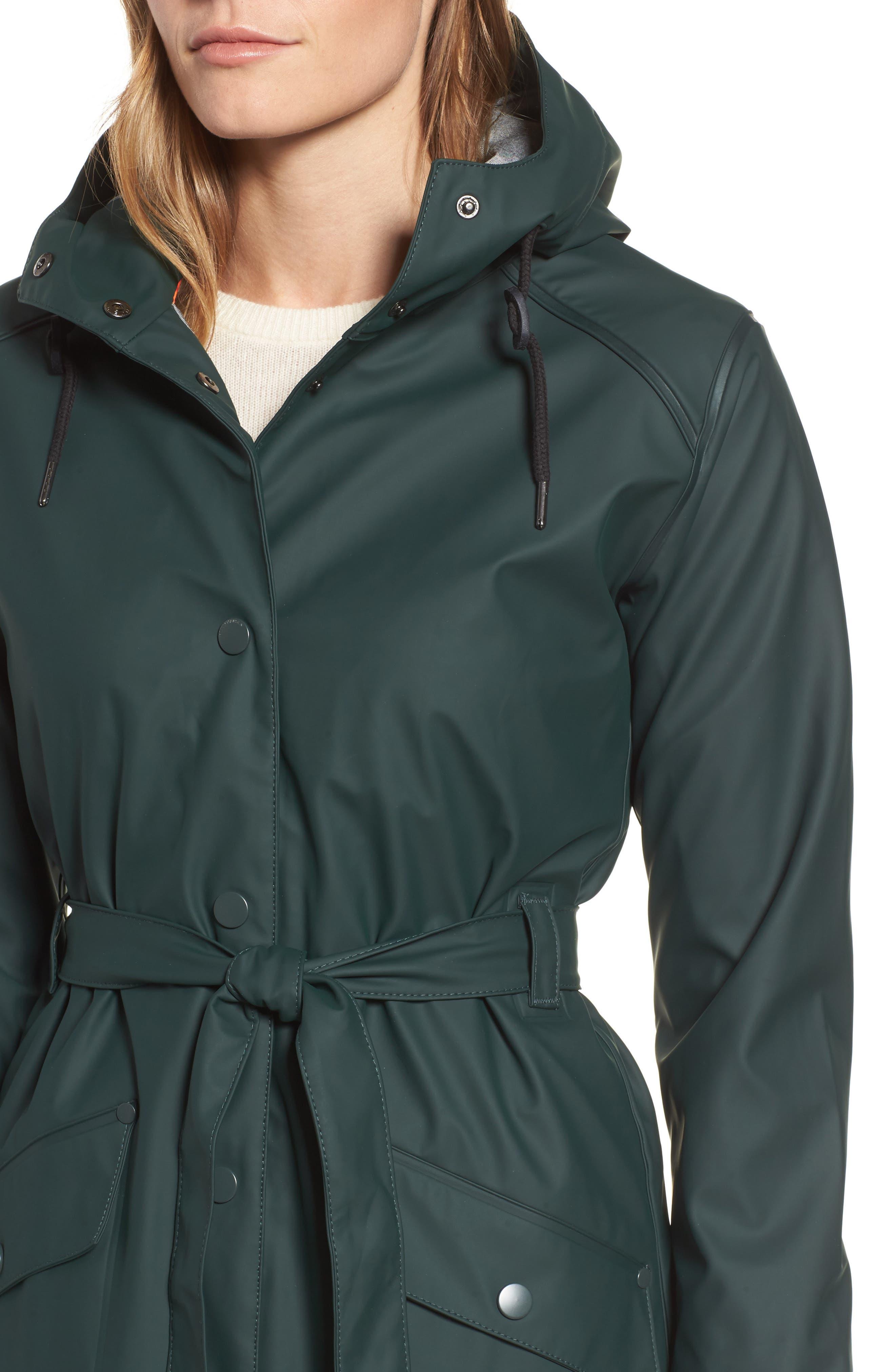 Kirkwall Raincoat,                             Alternate thumbnail 4, color,                             Darkest Spruce