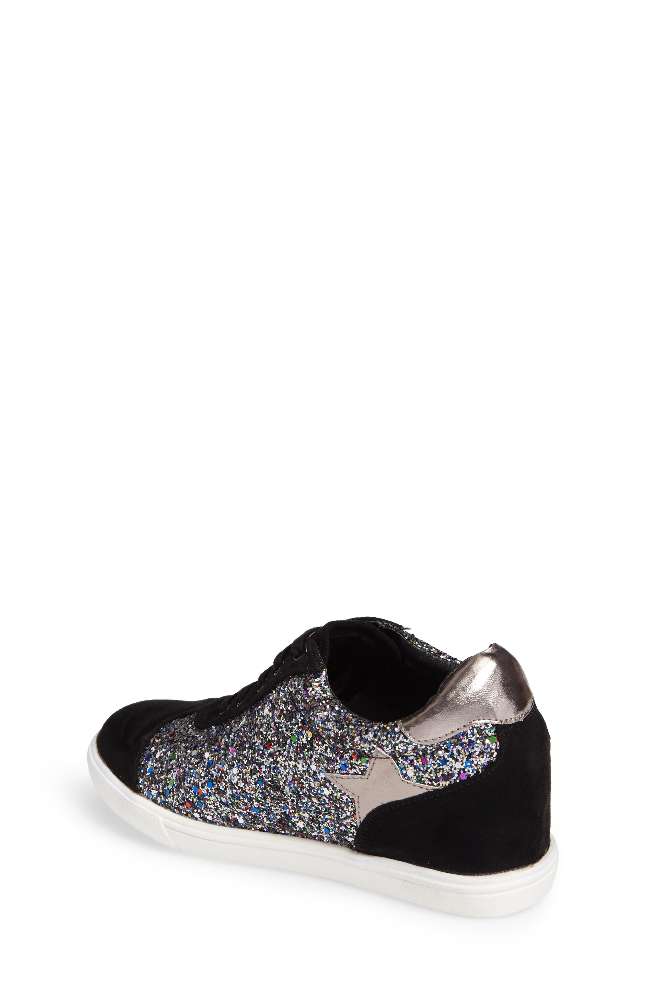 Alternate Image 3  - Ash Low Star Glittery Concealed Wedge Sneaker (Toddler, Little Kid & Big Kid)