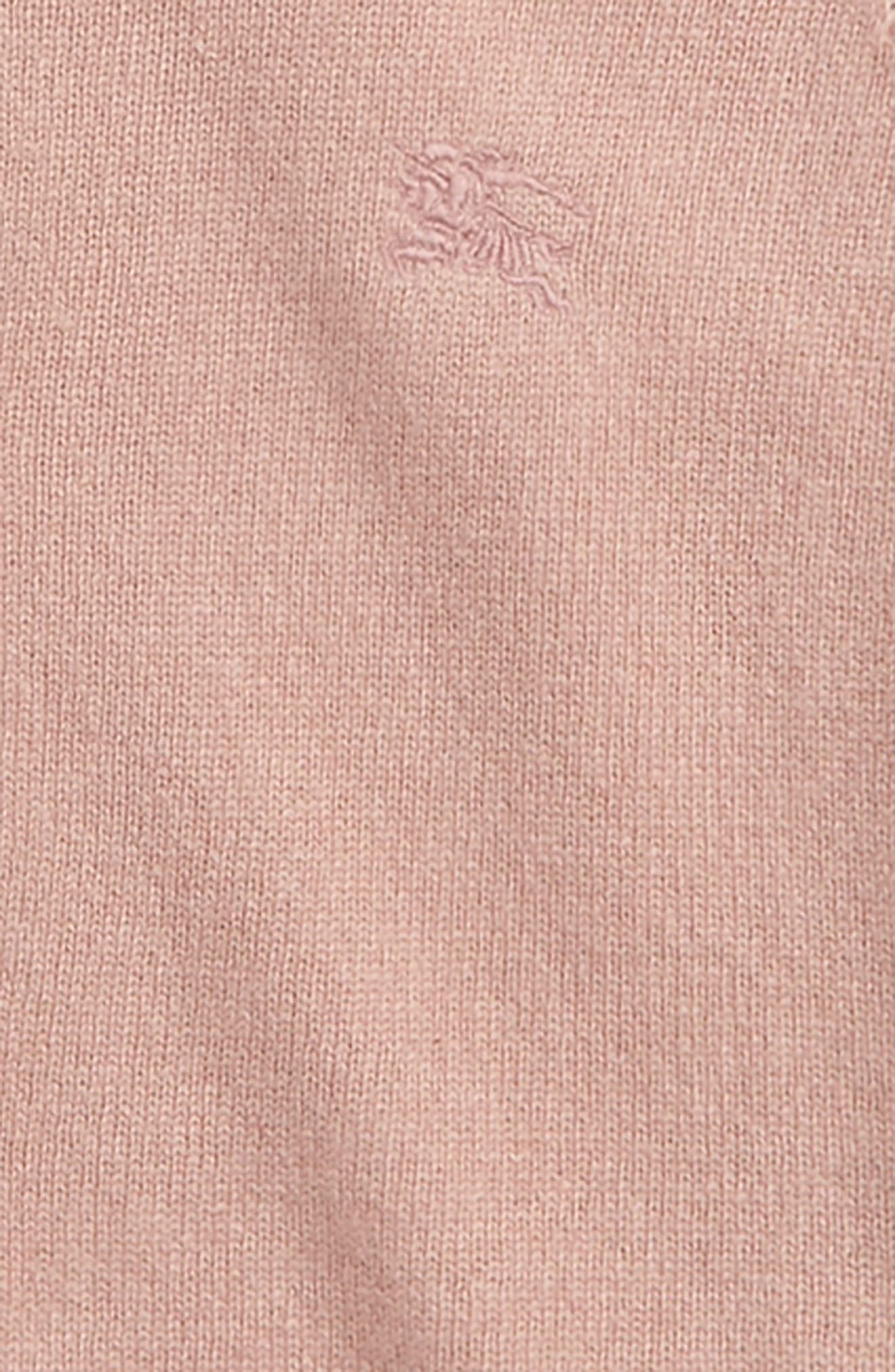 Gema Cashmere Cardigan,                             Alternate thumbnail 2, color,                             Dusty Pink