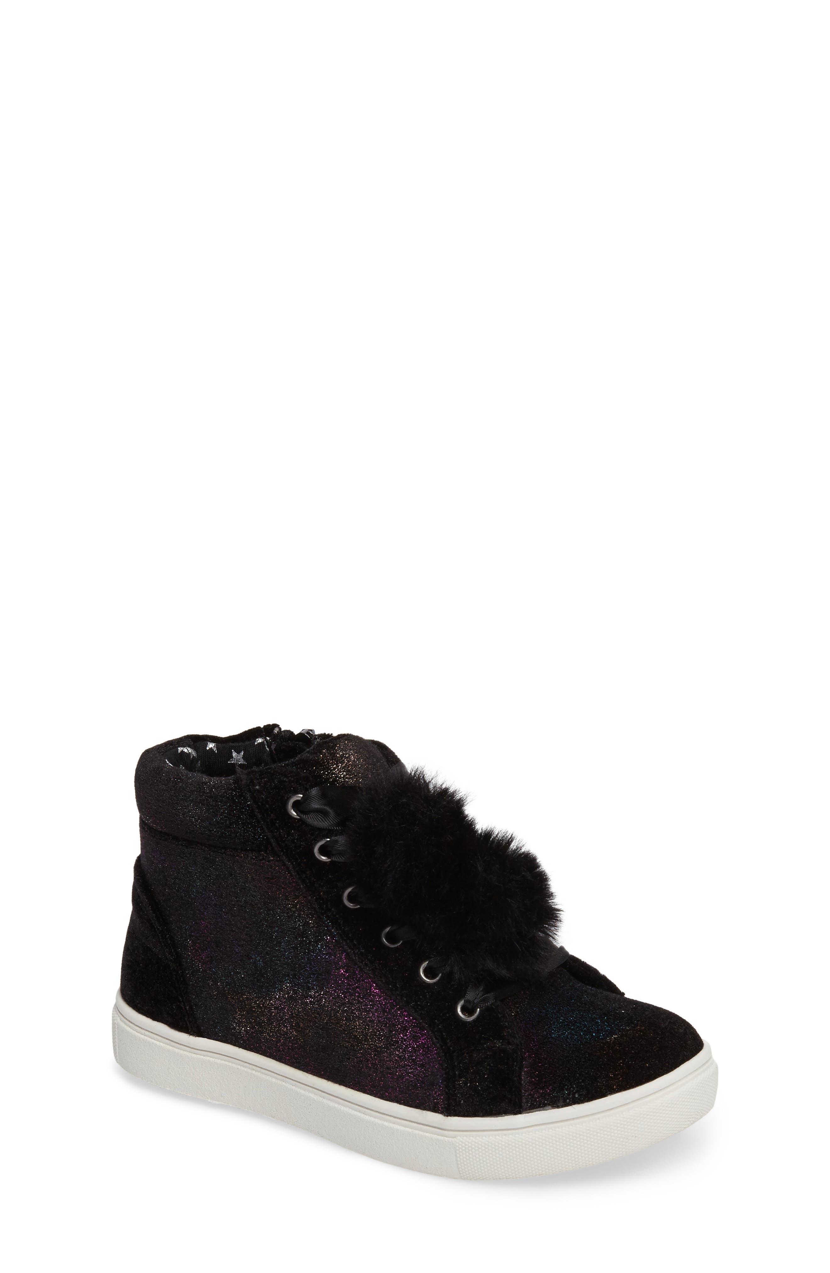 Alternate Image 1 Selected - Steve Madden JBrielle High Top Sneaker (Little Kid & Big Kid)