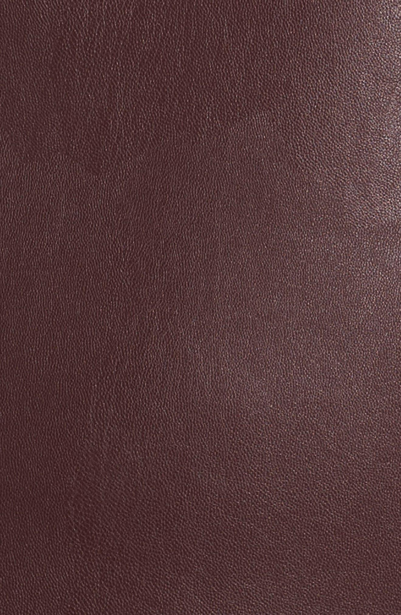 Alternate Image 5  - Persona by Marina Rinaldi Narrare Faux Leather Coat (Plus Size)