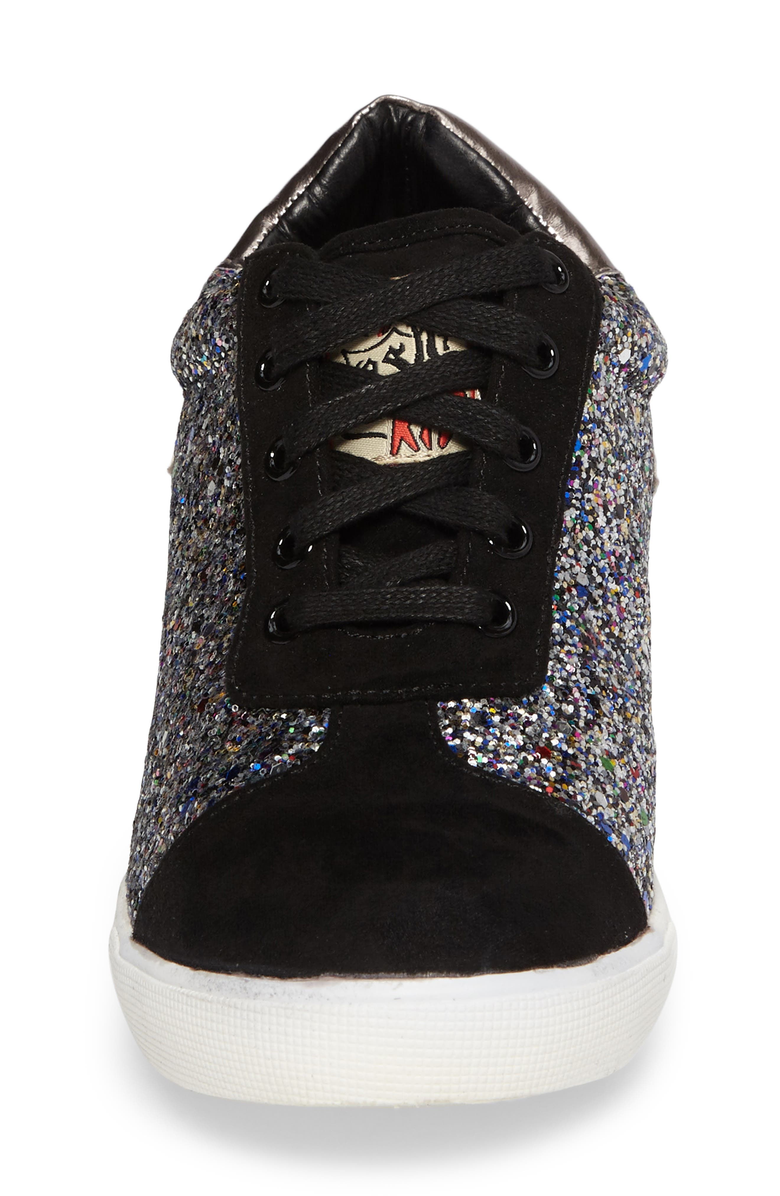Alternate Image 4  - Ash Low Star Glittery Concealed Wedge Sneaker (Toddler, Little Kid & Big Kid)