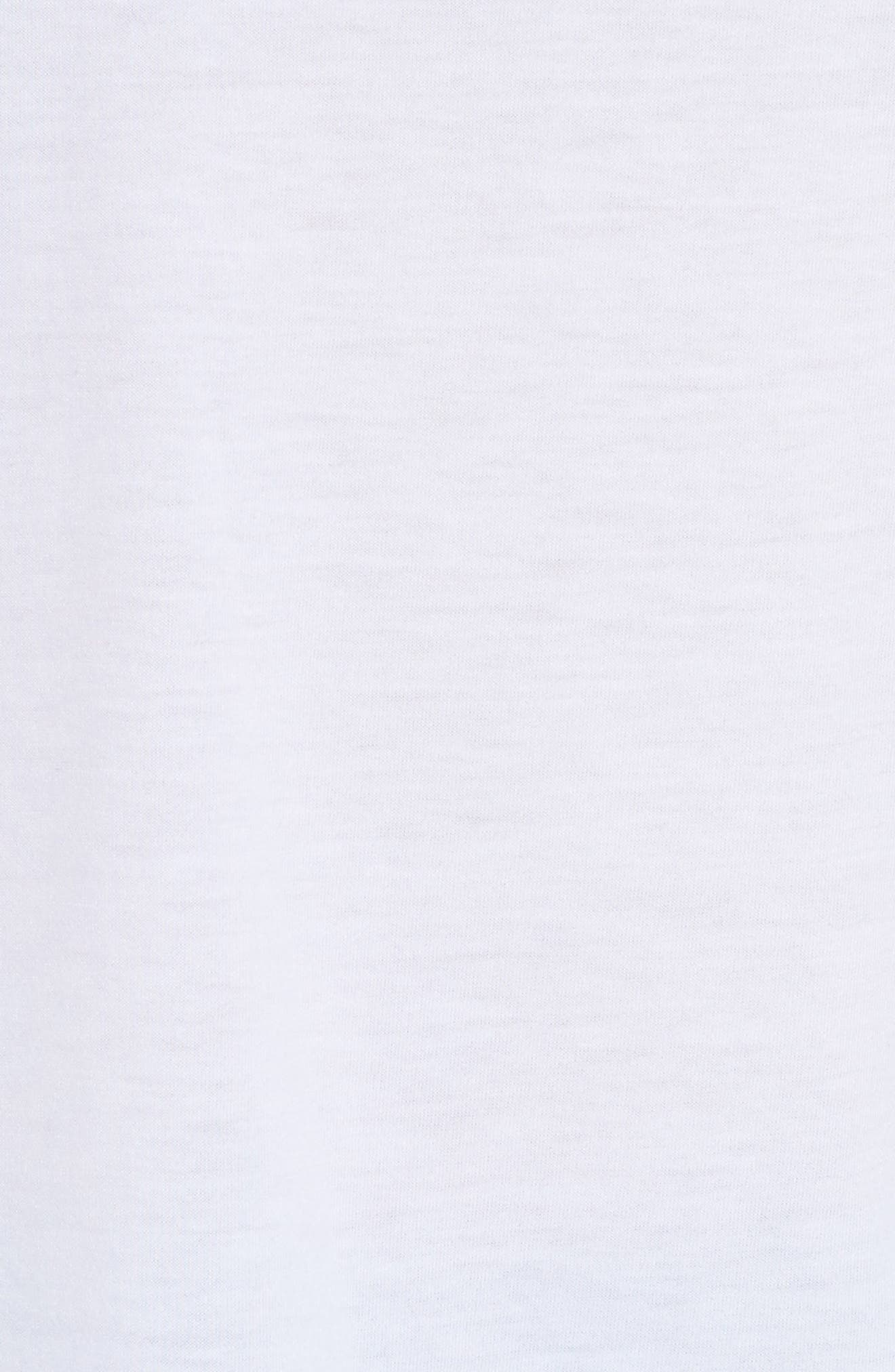 Breathe Tailwind Running Top,                             Alternate thumbnail 6, color,                             White