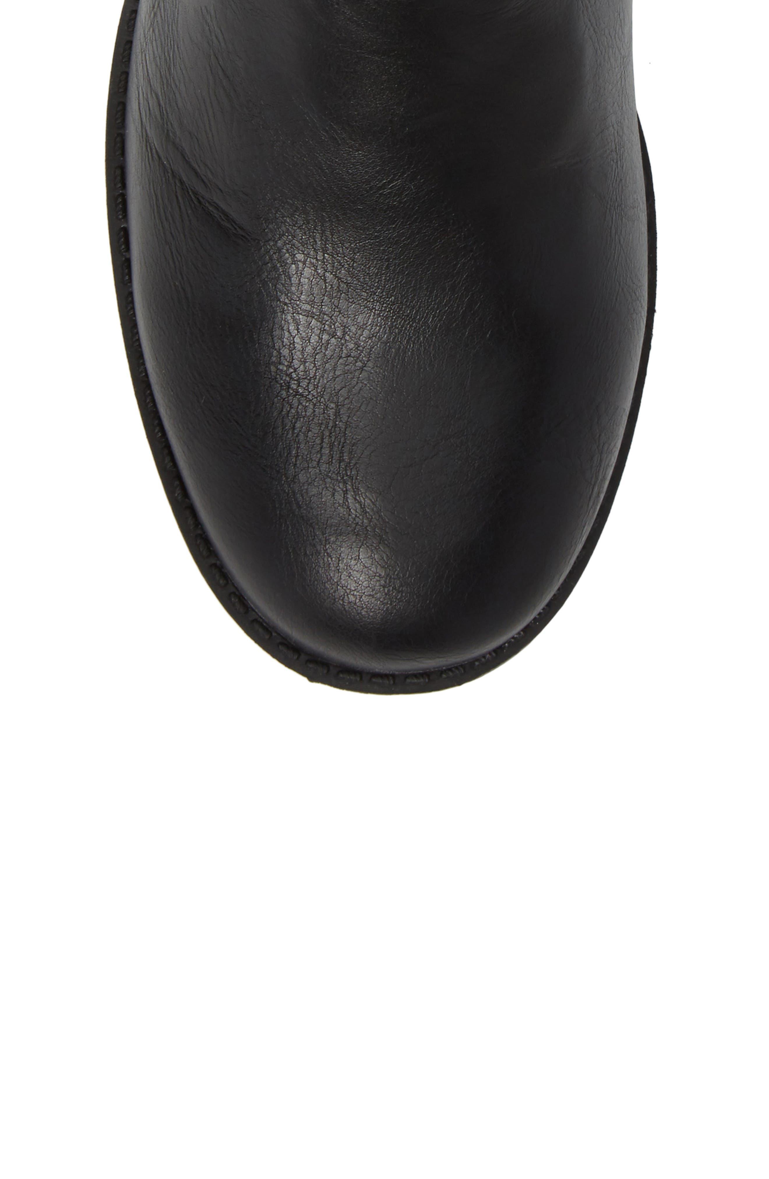 Kennedy Hunt Boot,                             Alternate thumbnail 5, color,                             Black