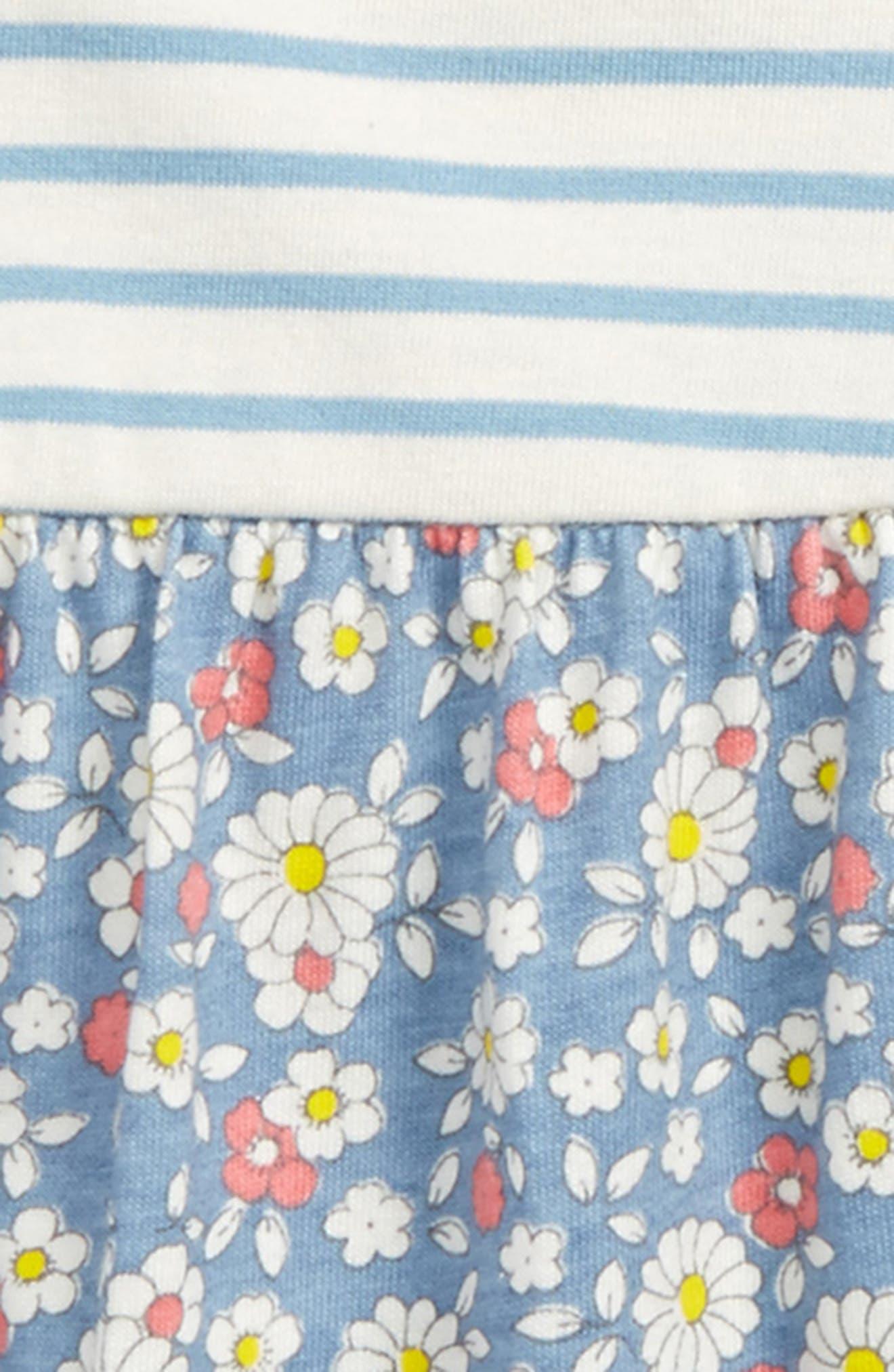 Hotchpotch Dress,                             Alternate thumbnail 2, color,                             Blue Wren Vintage Daisy