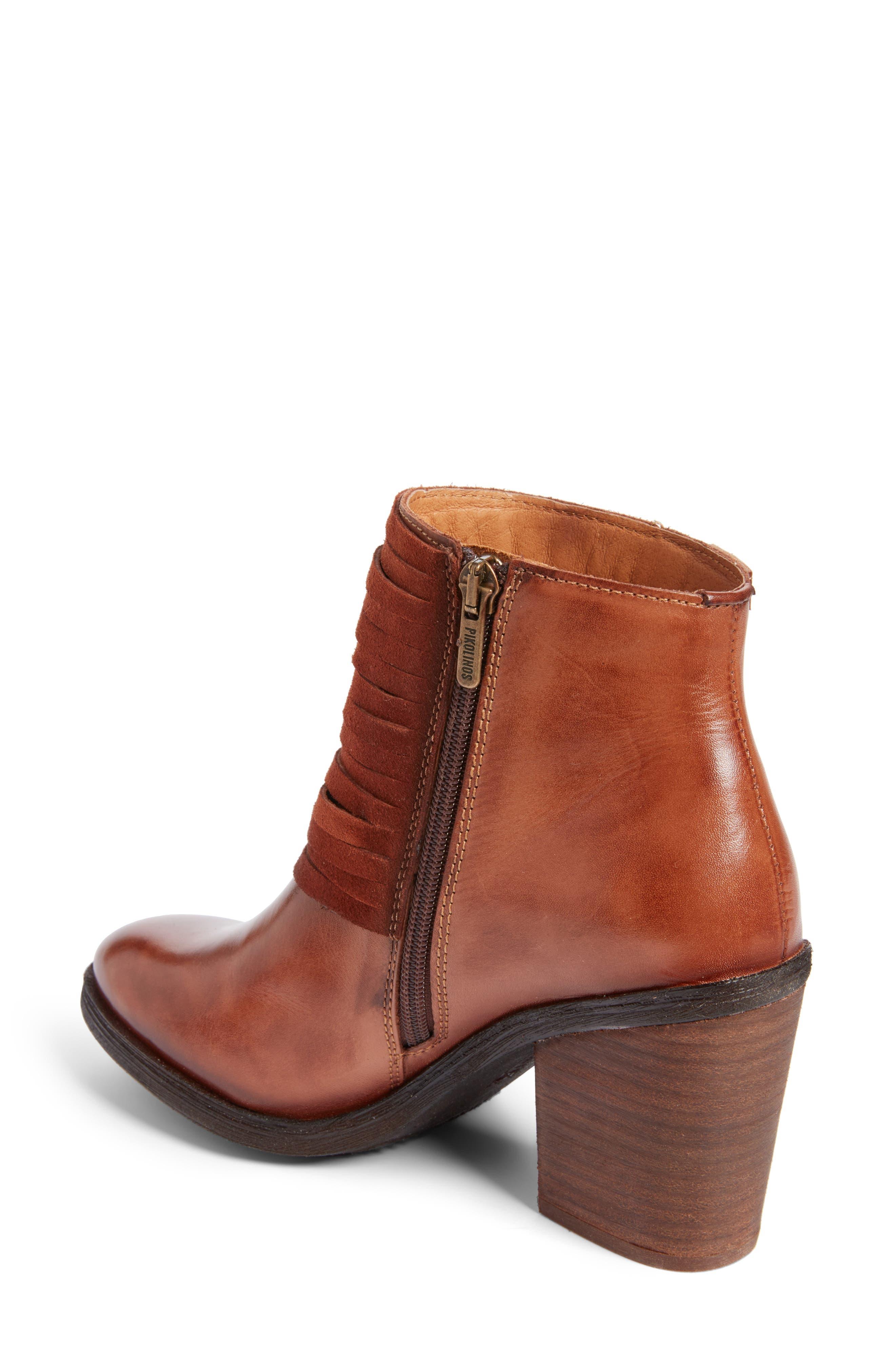 Alicante Bootie,                             Alternate thumbnail 2, color,                             Cuero Leather