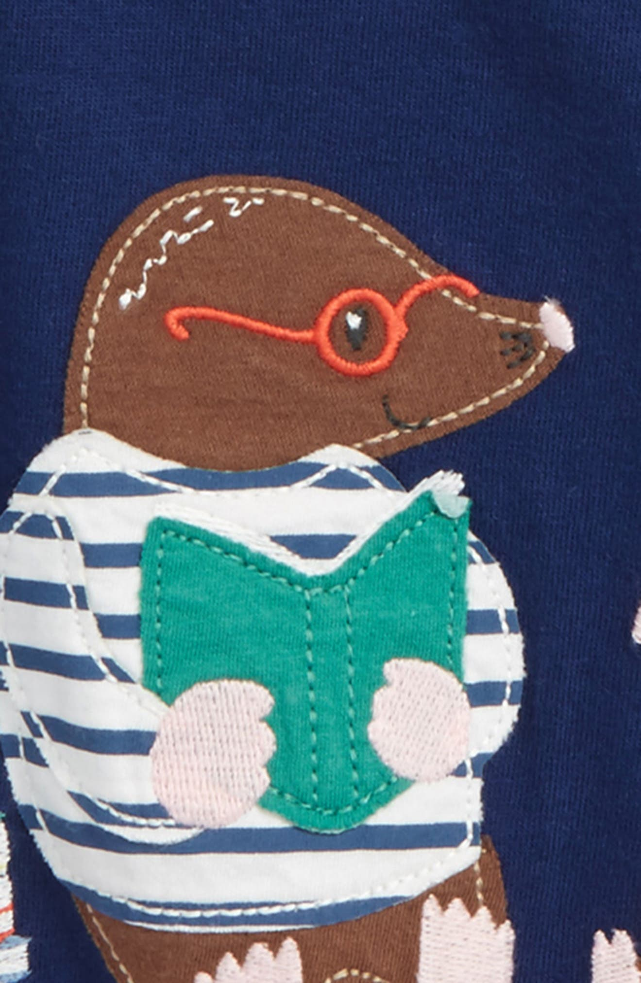 Alternate Image 2  - Mini Boden Big Appliqué T-Shirt (Baby Boys & Toddler Boys)