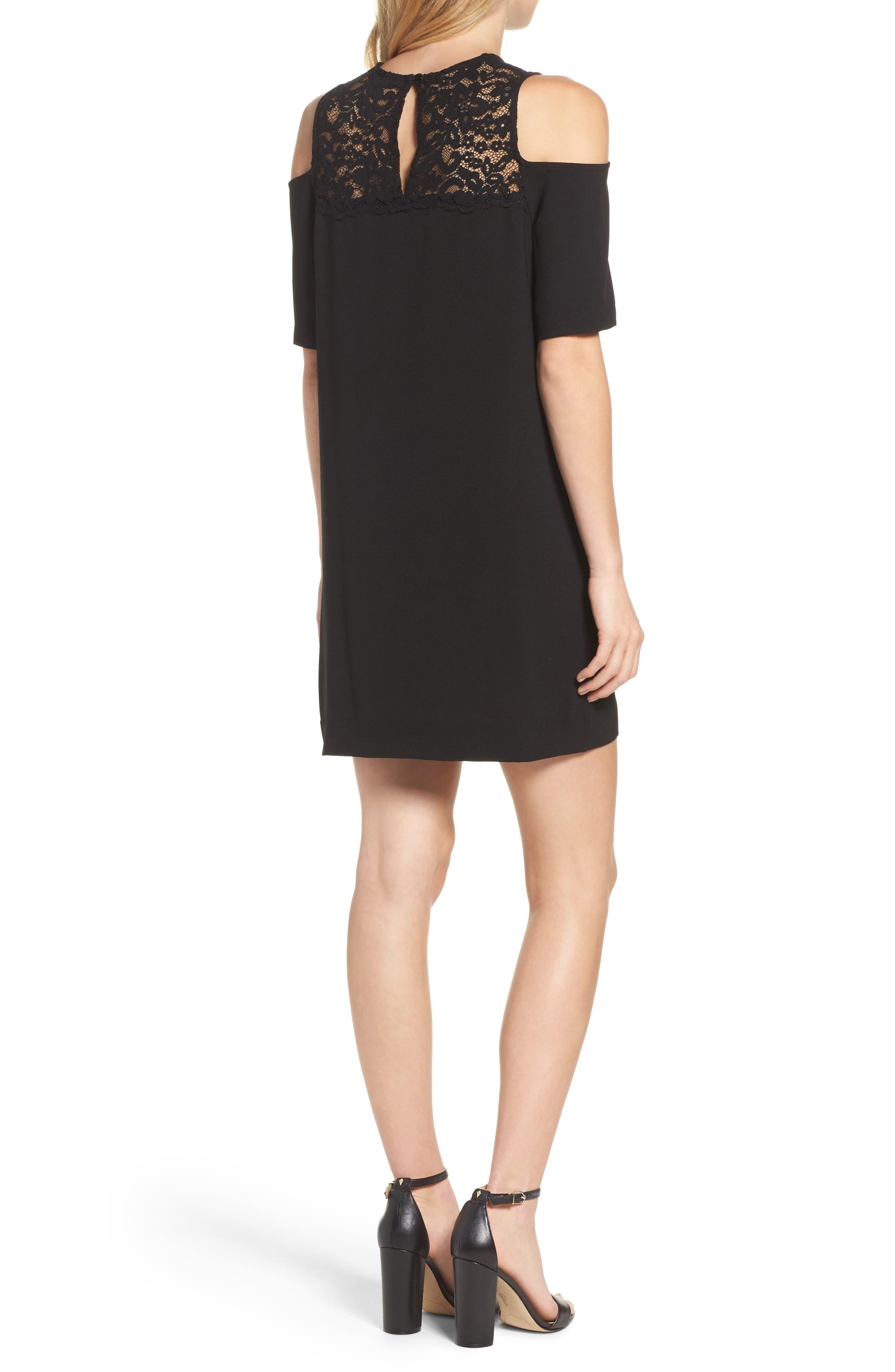 Alternate Image 2  - Felicity & Coco Jess Cold Shoulder Lace Dress