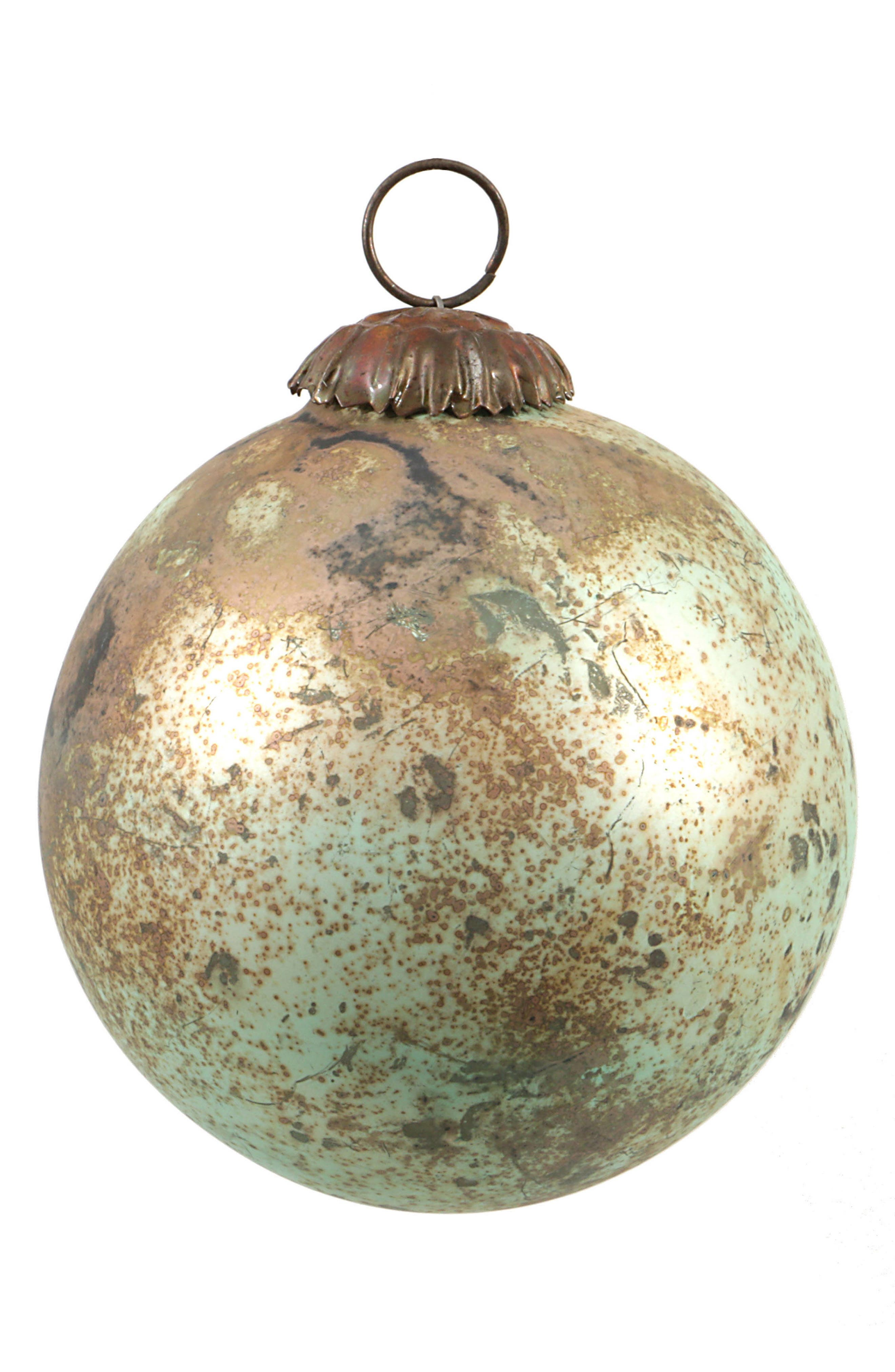 Glass Ball Ornament,                         Main,                         color, Blue