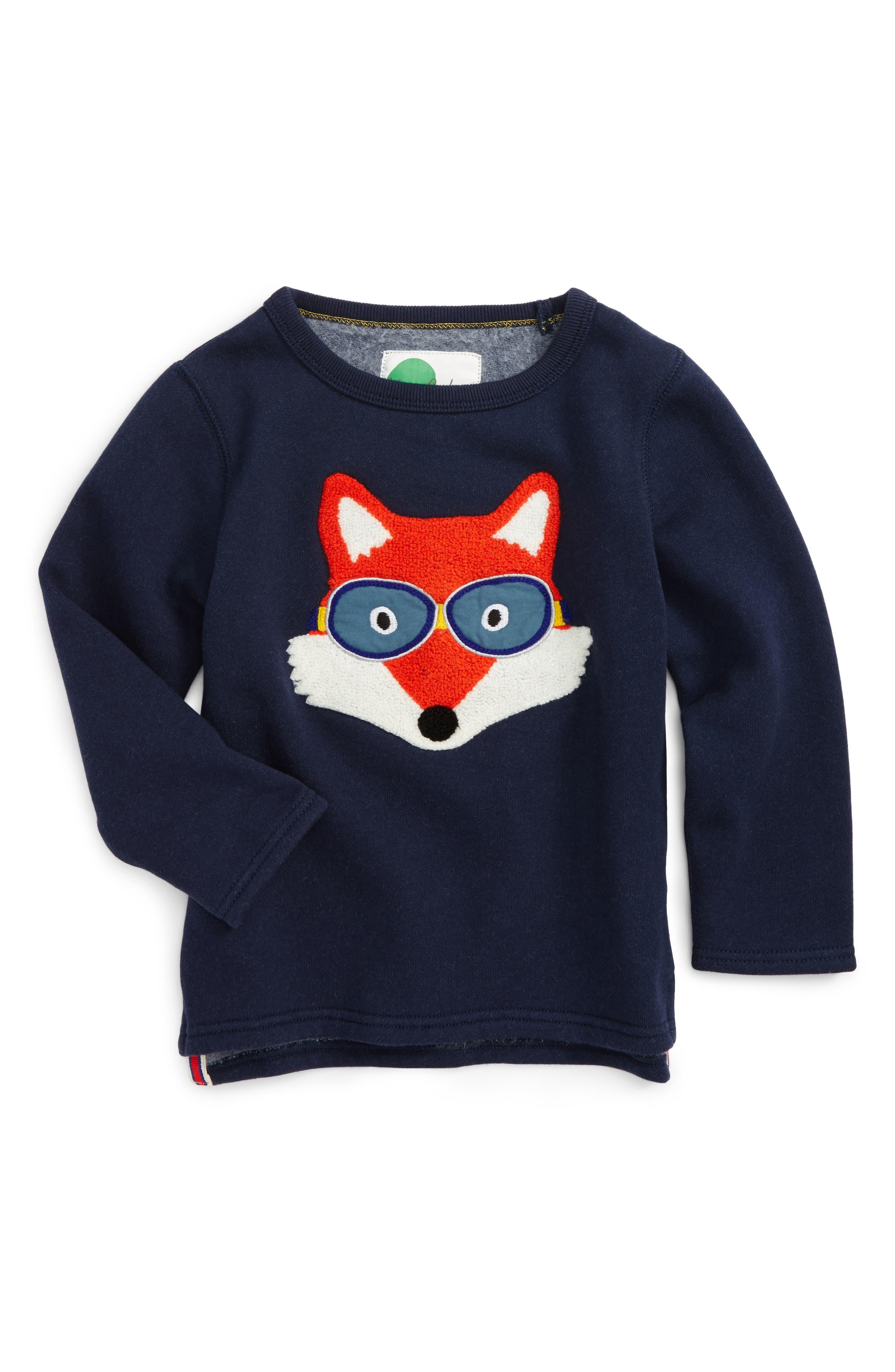 Mini Boden Open Road Sweatshirt (Toddler Boys, Little Boys & Big Boys)