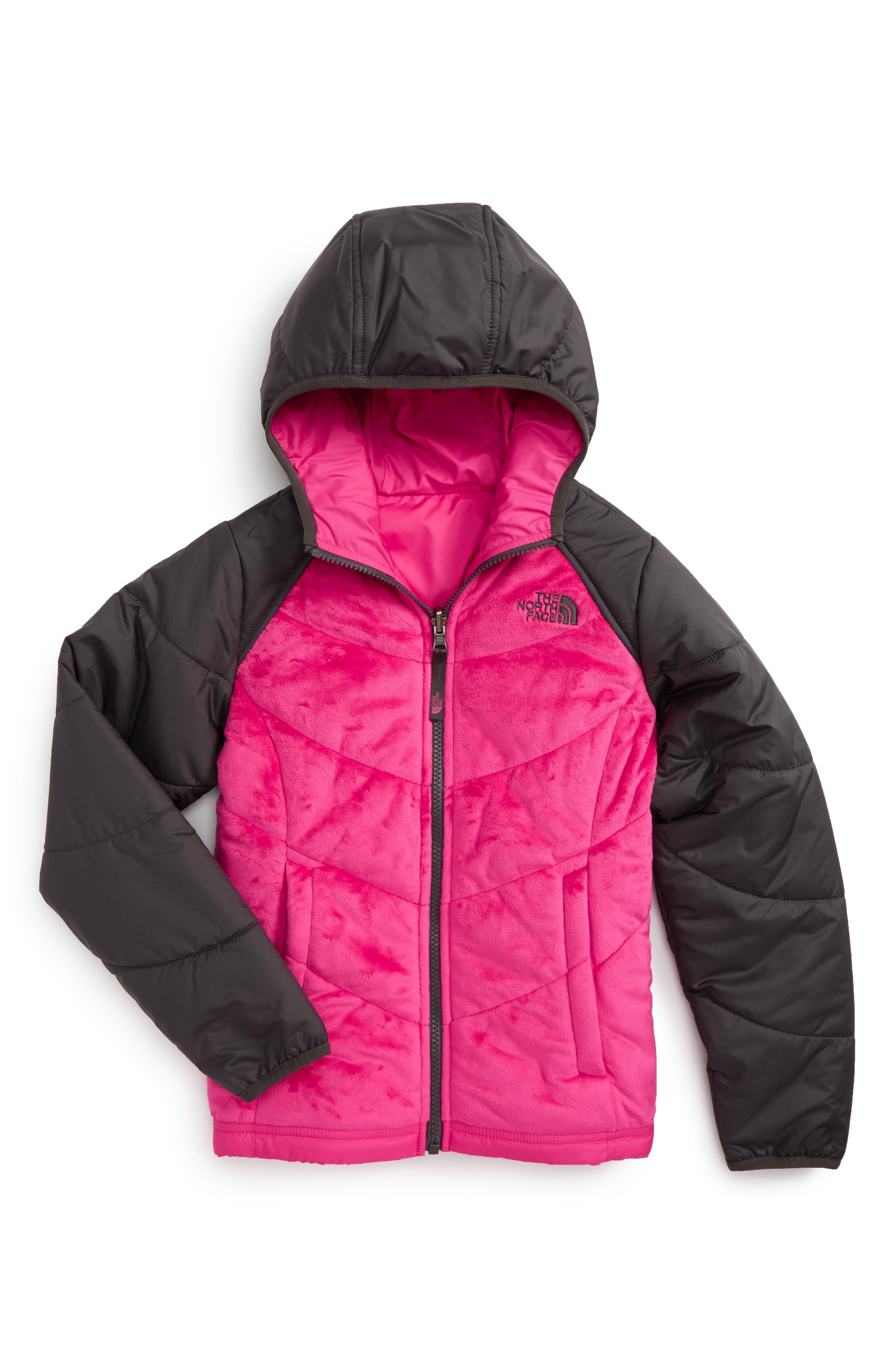 Main Image - The North Face Perseus Heatseeker™ Insulated Reversible Jacket (Little Girls & Big Girls)