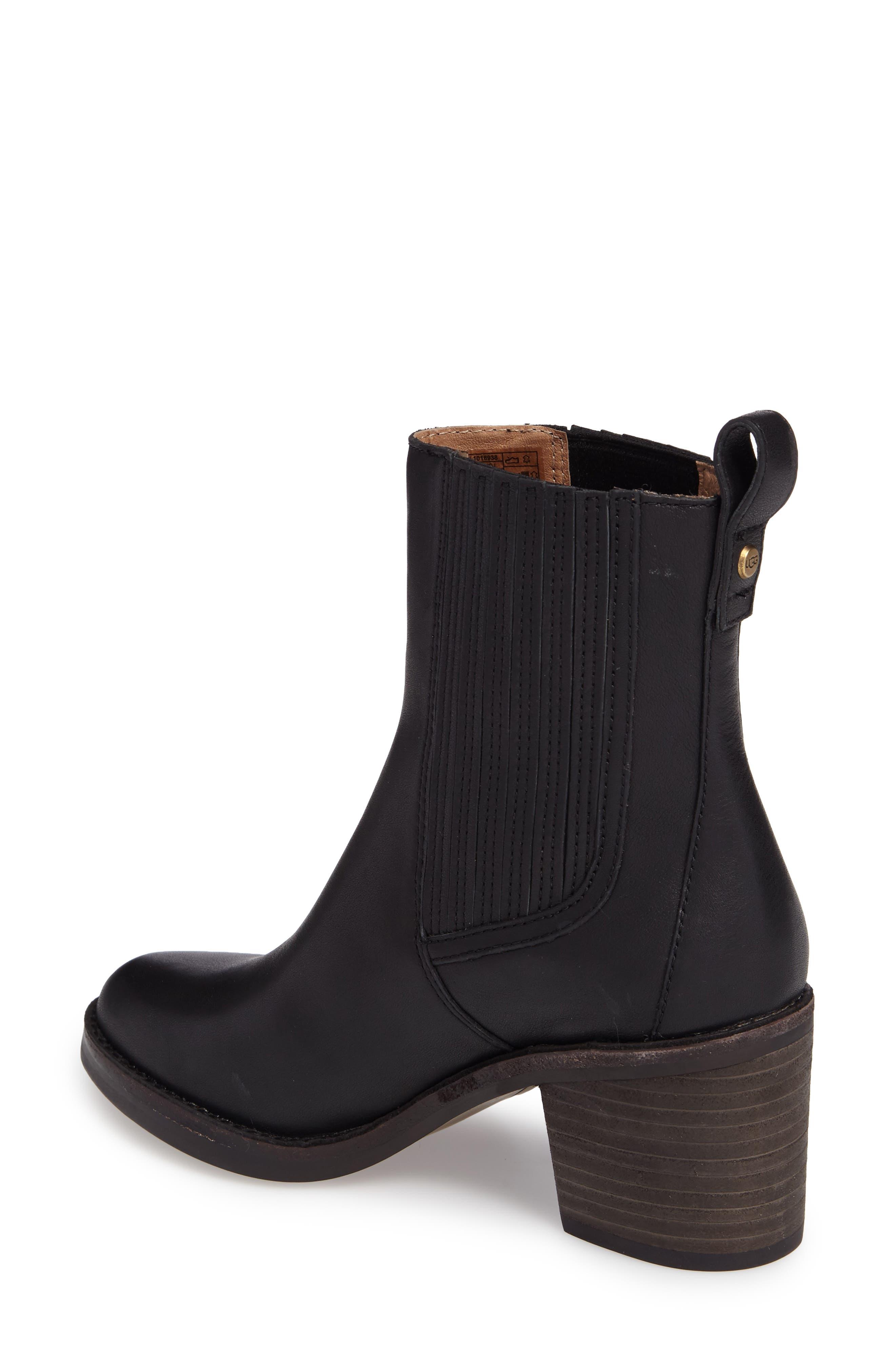 Camden Chelsea Boot,                             Alternate thumbnail 2, color,                             Black Leather