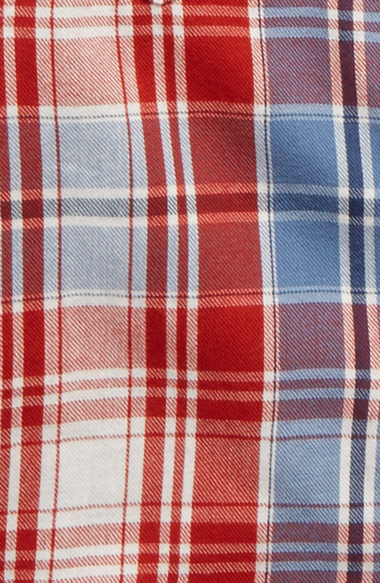 Alternate Image 2  - Tucker + Tate Plaid Double Cloth Shirt (Toddler Boys & Little Boys)