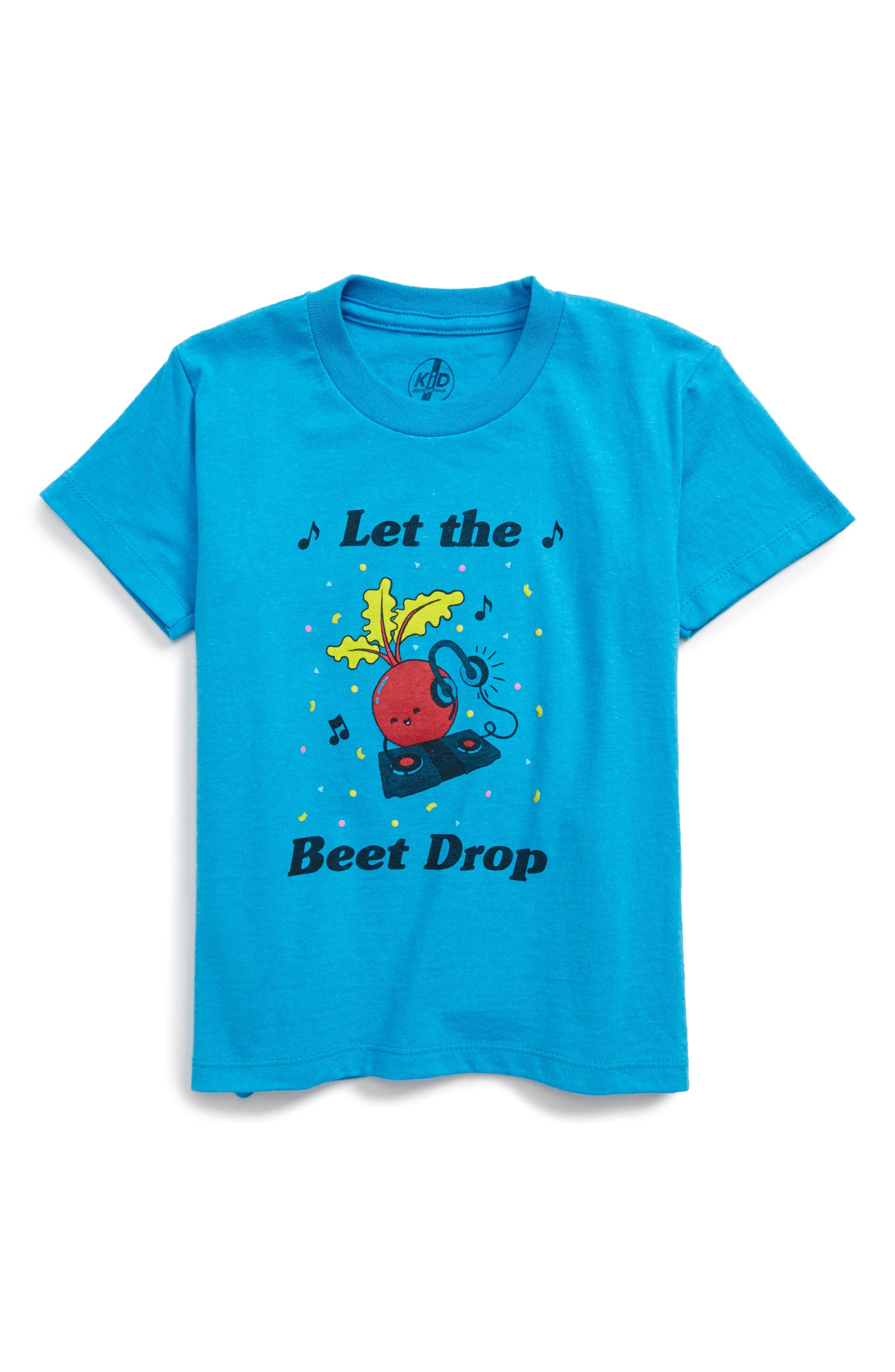 Alternate Image 1 Selected - Kid Dangerous Let the Beet Drop (Toddler Boys & Little Boys)