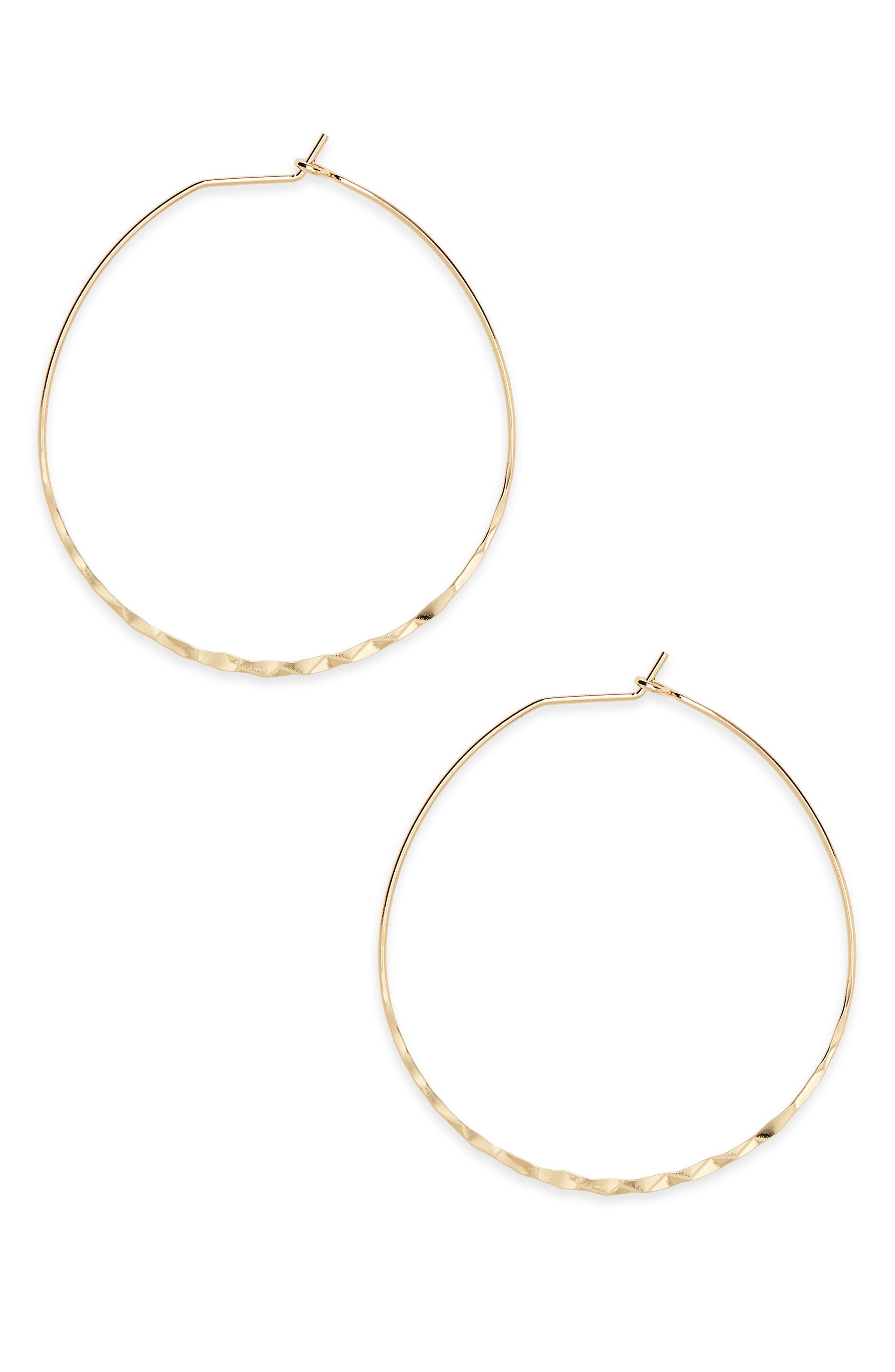 BP. Oval Hoop Earrings