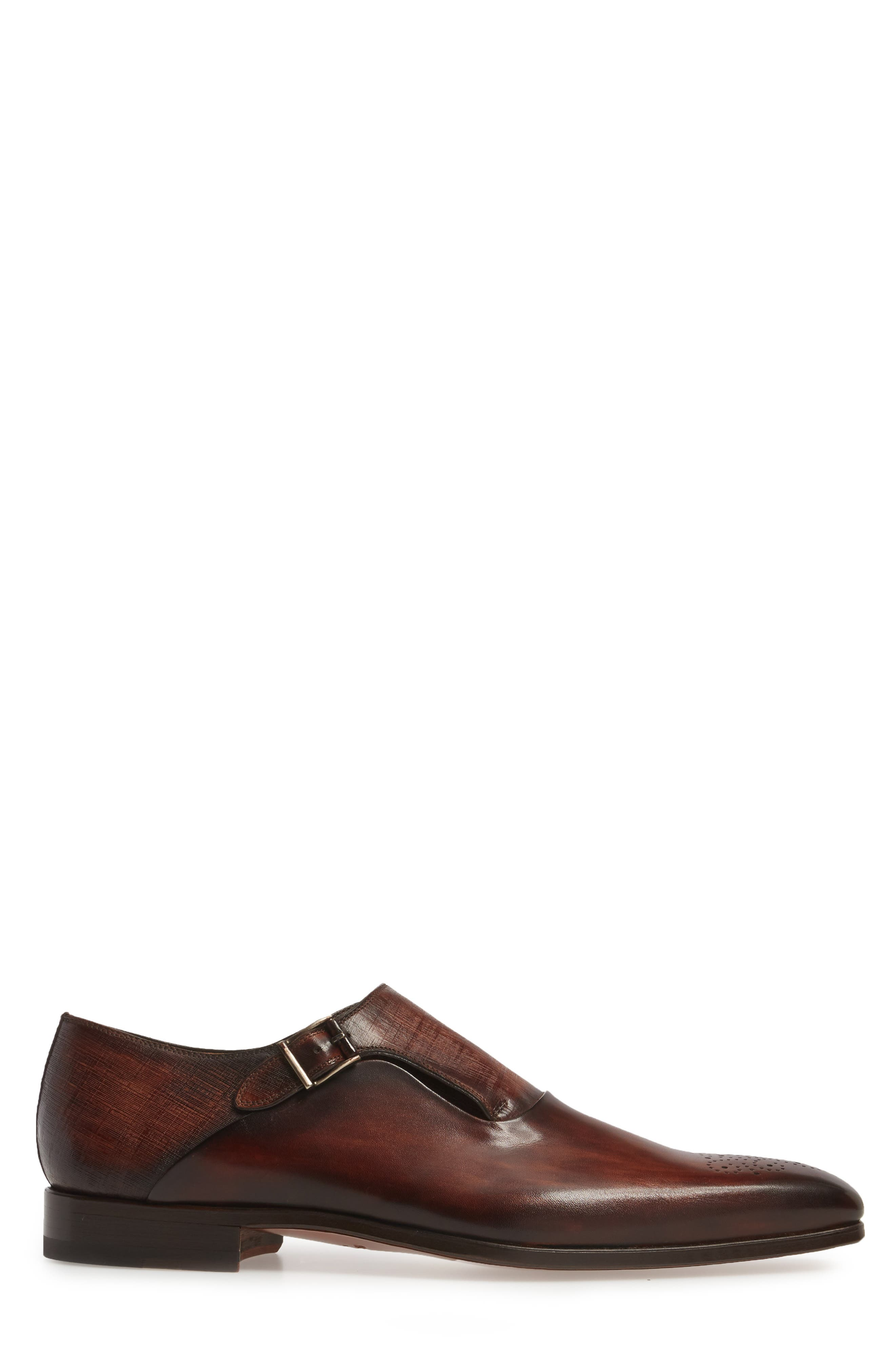 Alternate Image 3  - Magnanni Saburo Monk Strap Shoe (Men)