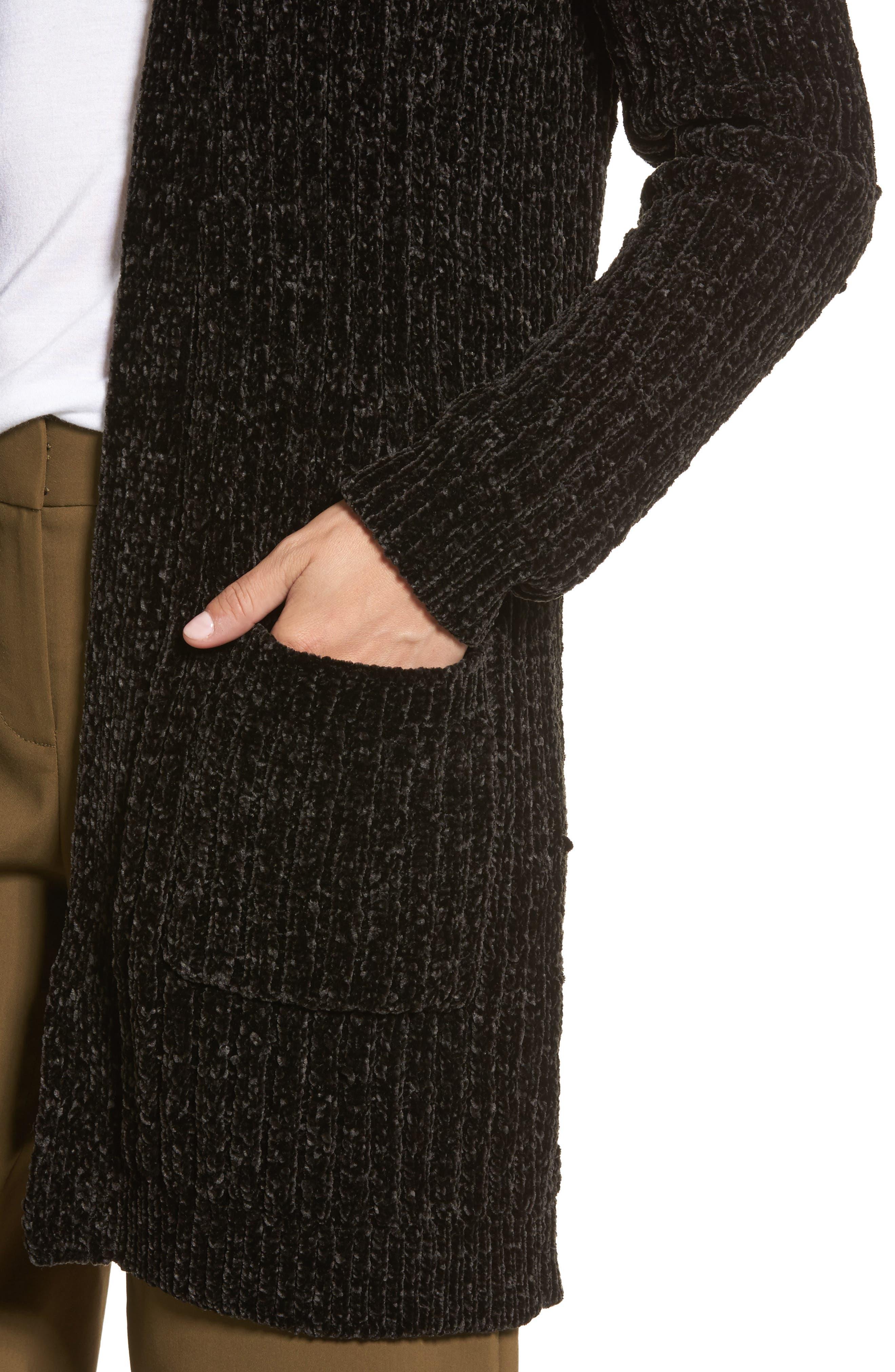 Alternate Image 4  - Halogen® Chenille Cardigan (Regular & Petite)