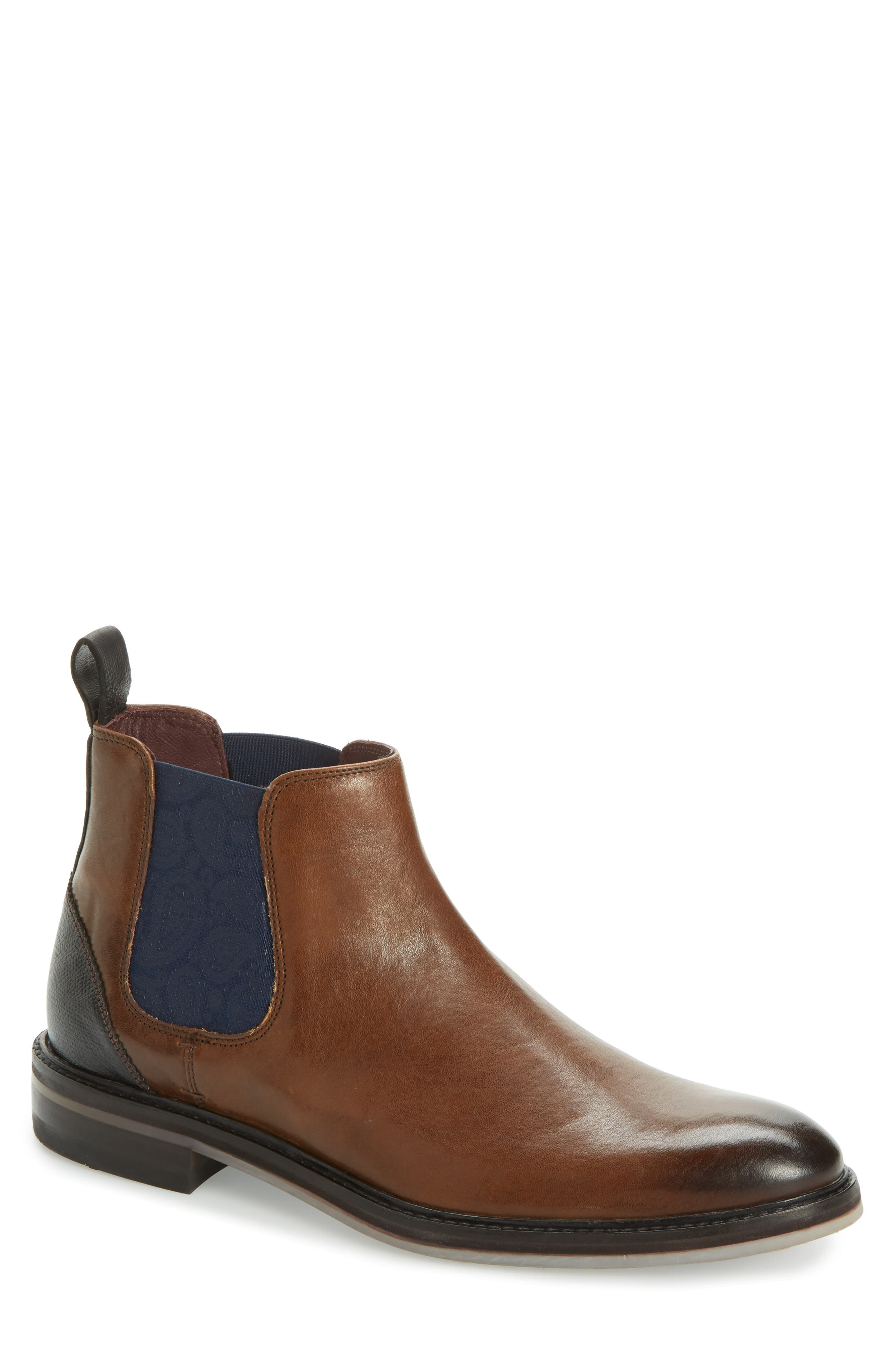 Main Image - Ted Baker London Zilpha Chelsea Boot (Men)