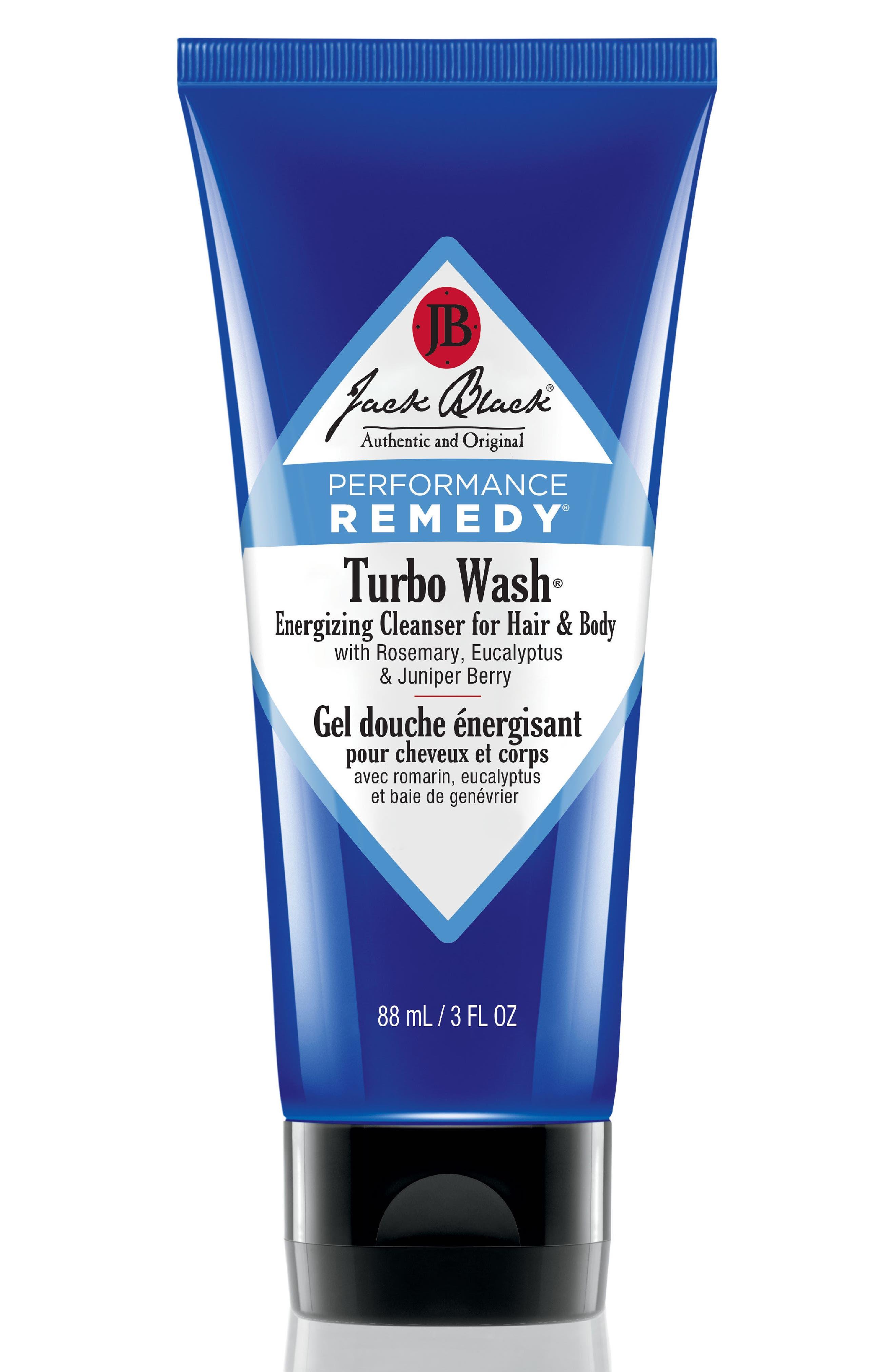 Main Image - Jack Black 'Turbo Wash®' Energizing Cleanser for Hair & Body (Travel Size)