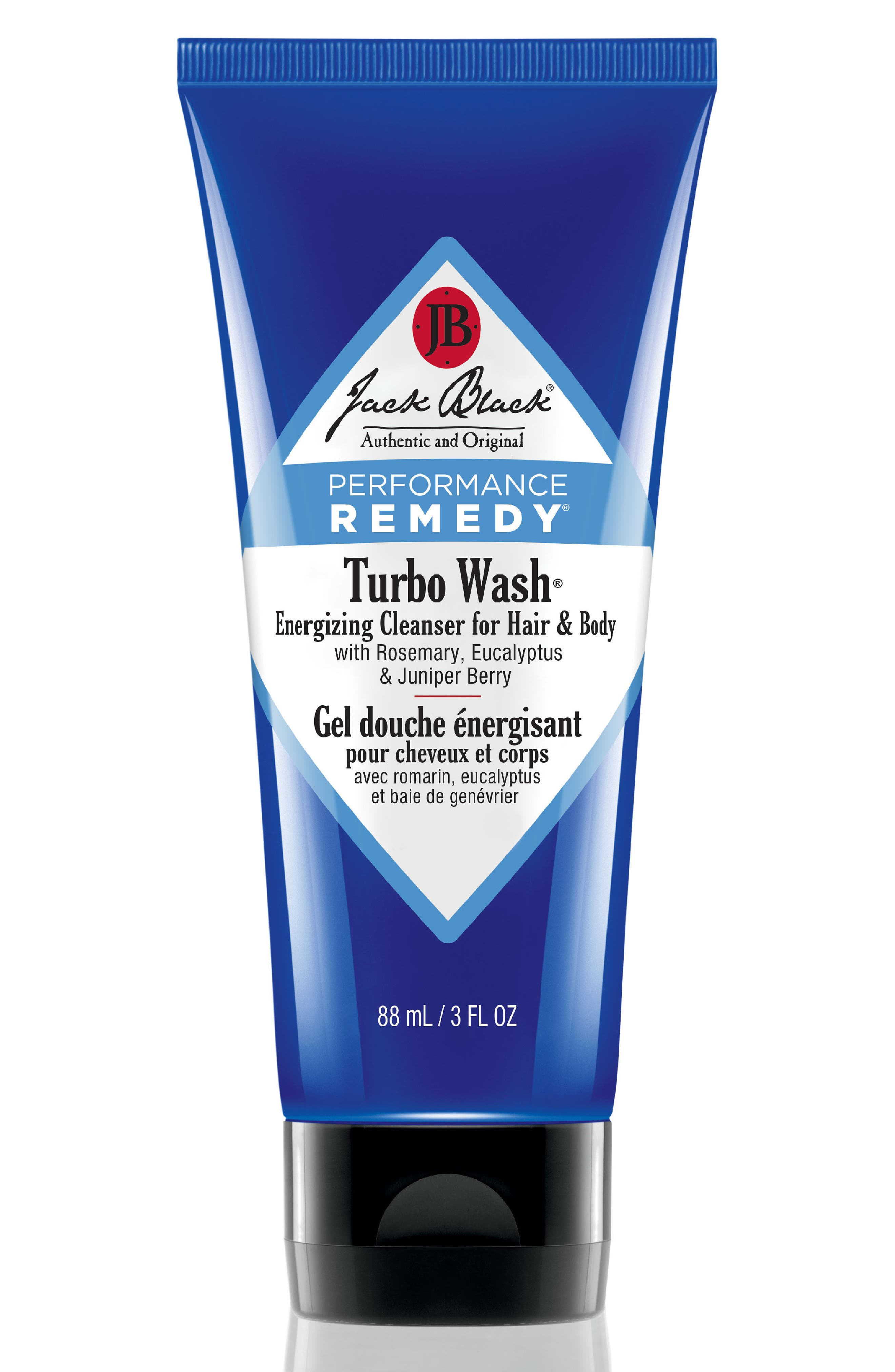 Jack Black 'Turbo Wash®' Energizing Cleanser for Hair & Body (Travel Size)