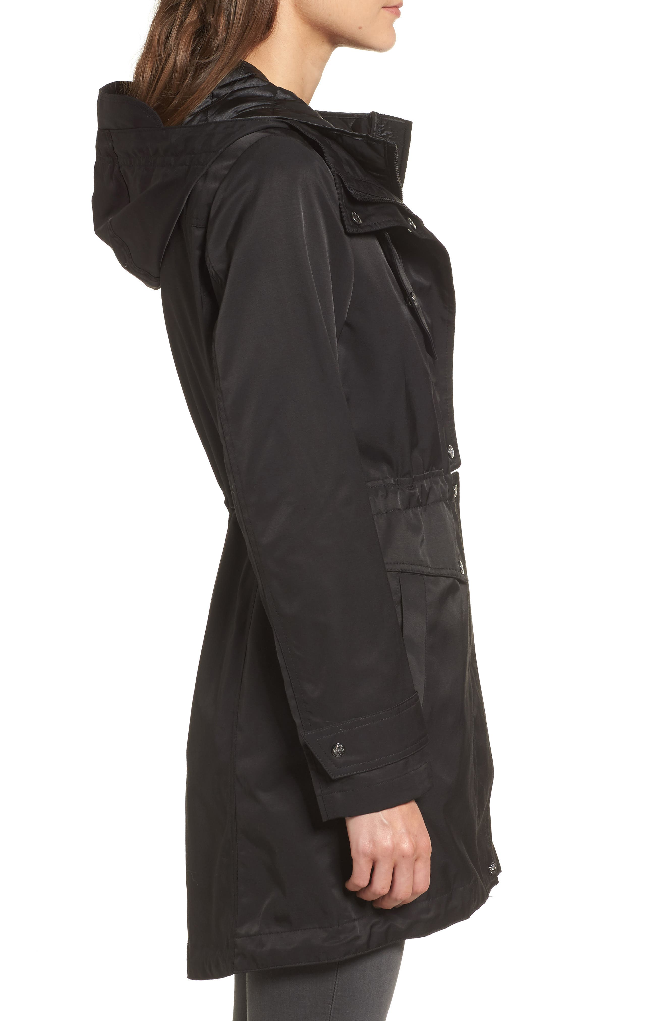 Alternate Image 3  - Vince Camuto Parka with Detachable Bib Insert