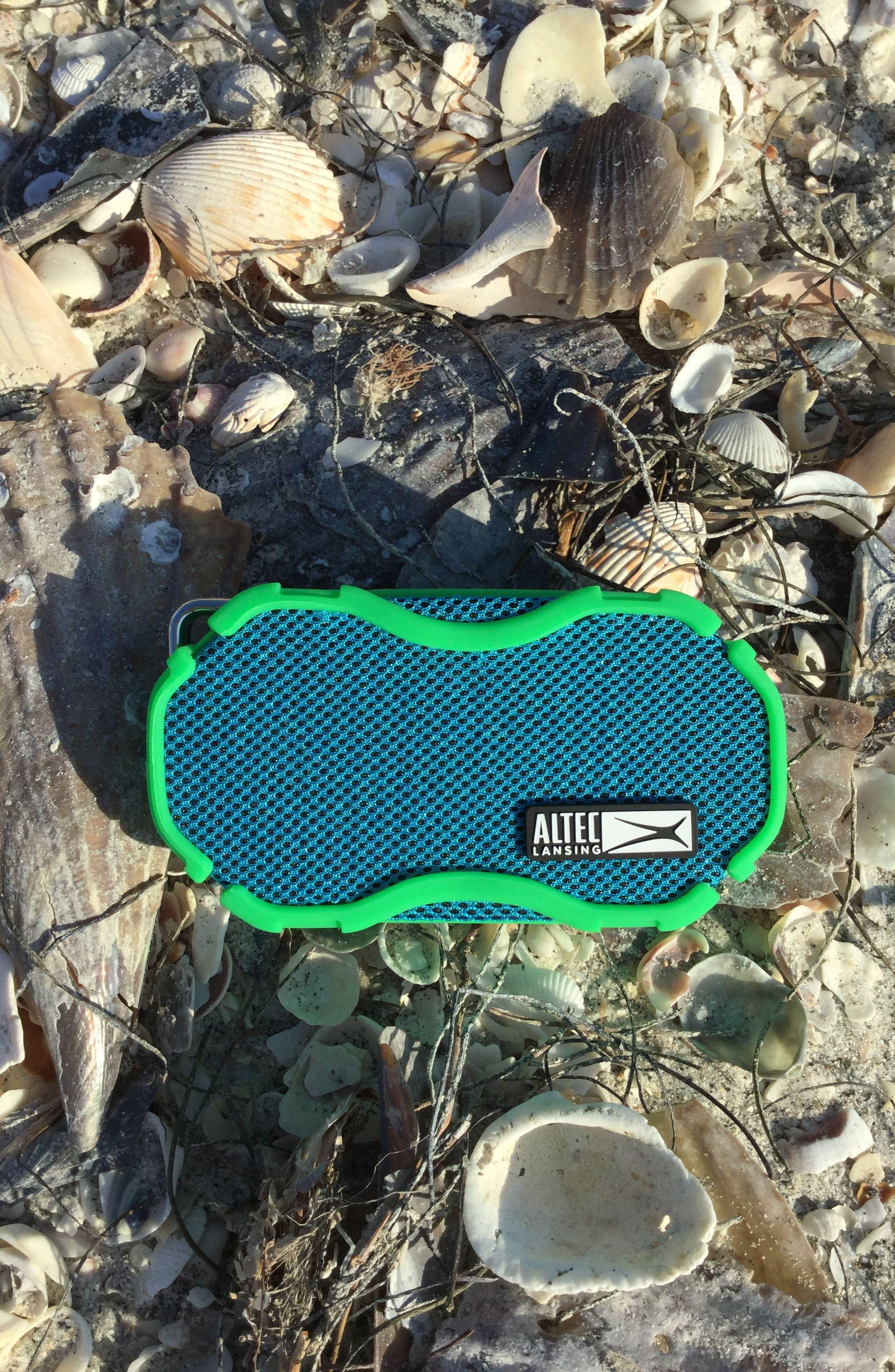 Baby Boom Waterproof Wireless Speaker,                             Alternate thumbnail 3, color,                             Green/ Blue Green