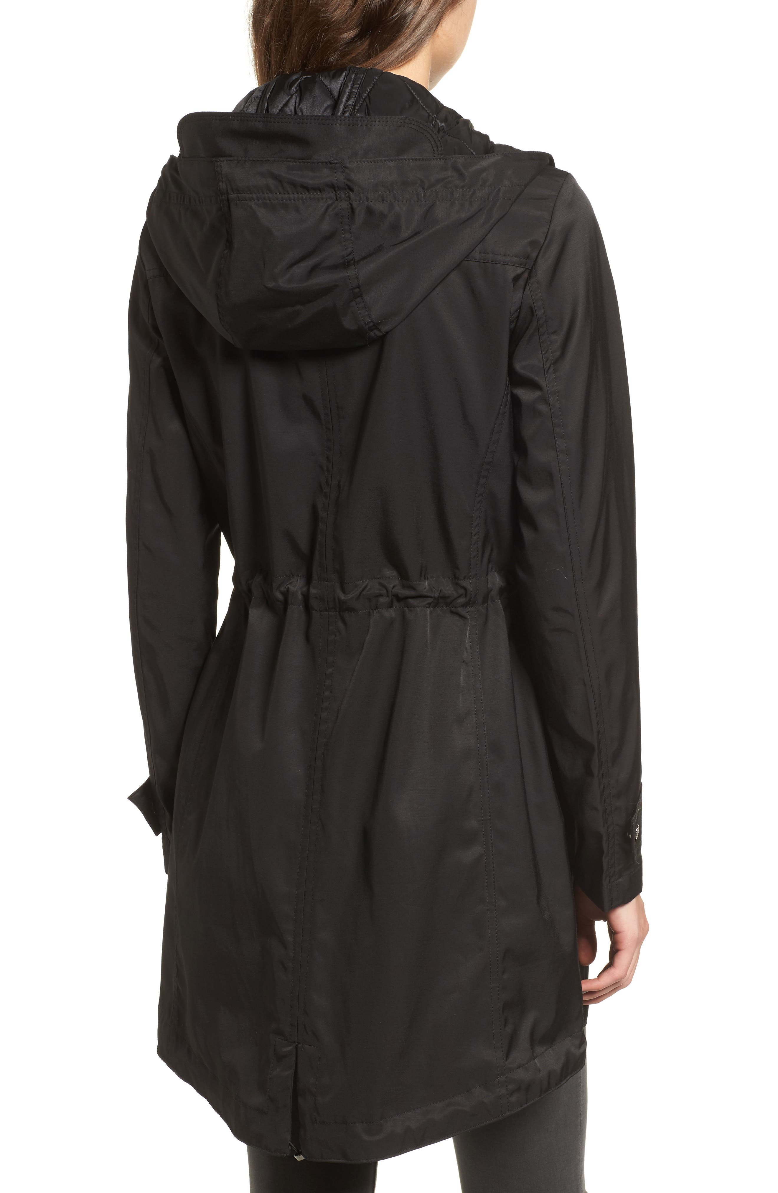 Alternate Image 2  - Vince Camuto Parka with Detachable Bib Insert