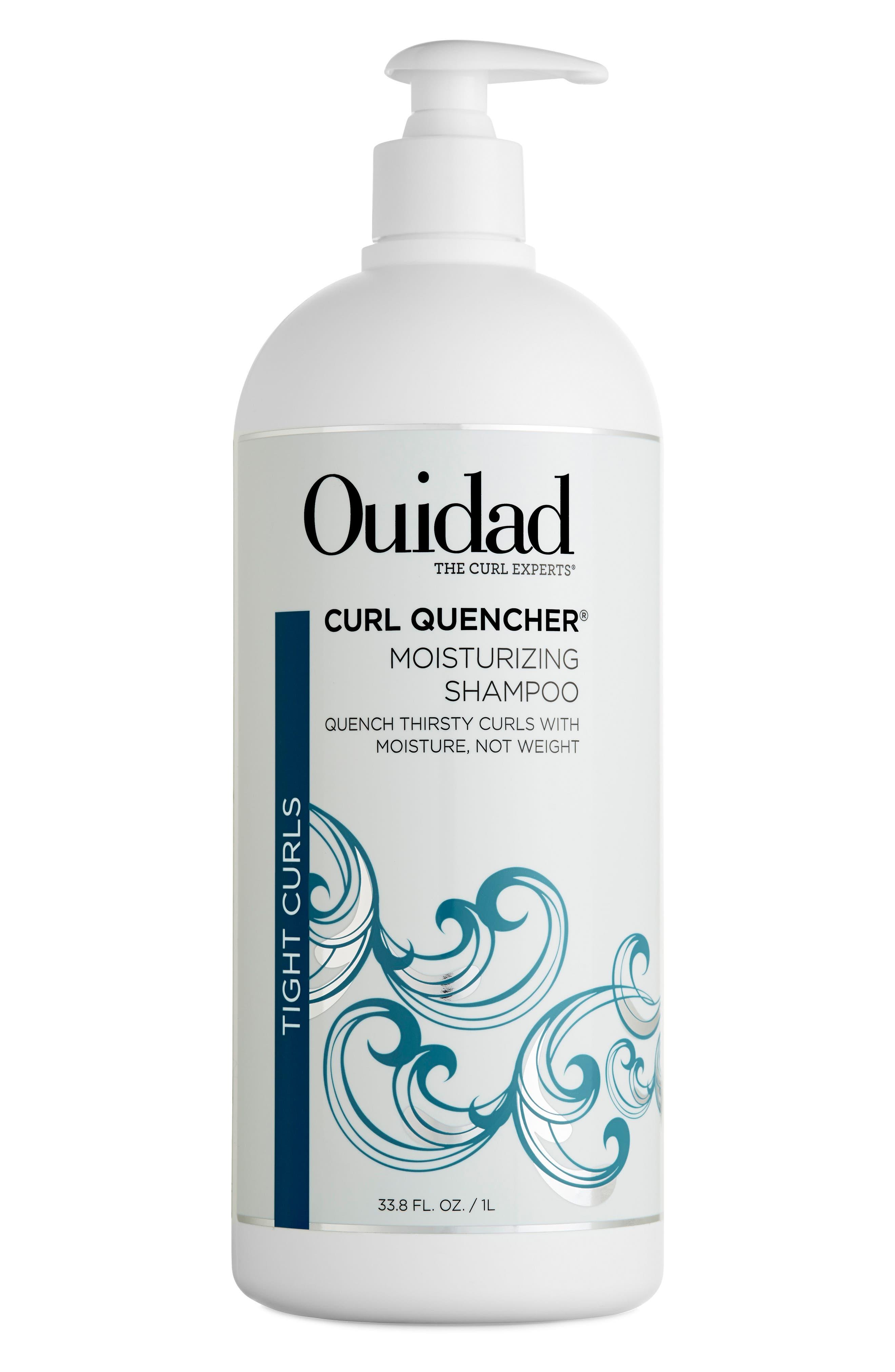 Curl Quencher<sup>®</sup> Moisturizing Shampoo,                             Main thumbnail 1, color,                             No Color
