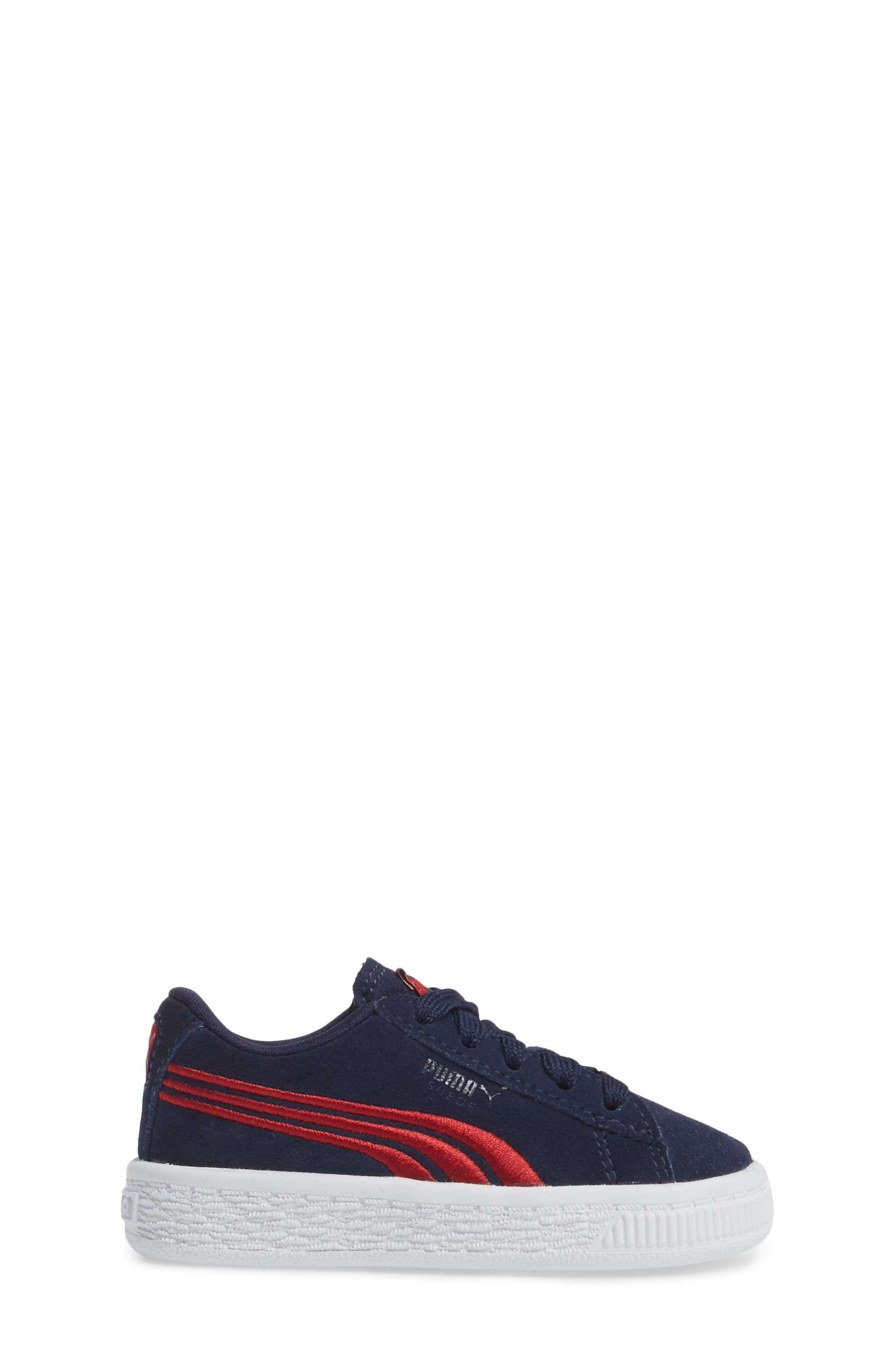 Alternate Image 3  - PUMA Suede Classic Sneaker (Baby, Walker & Toddler)