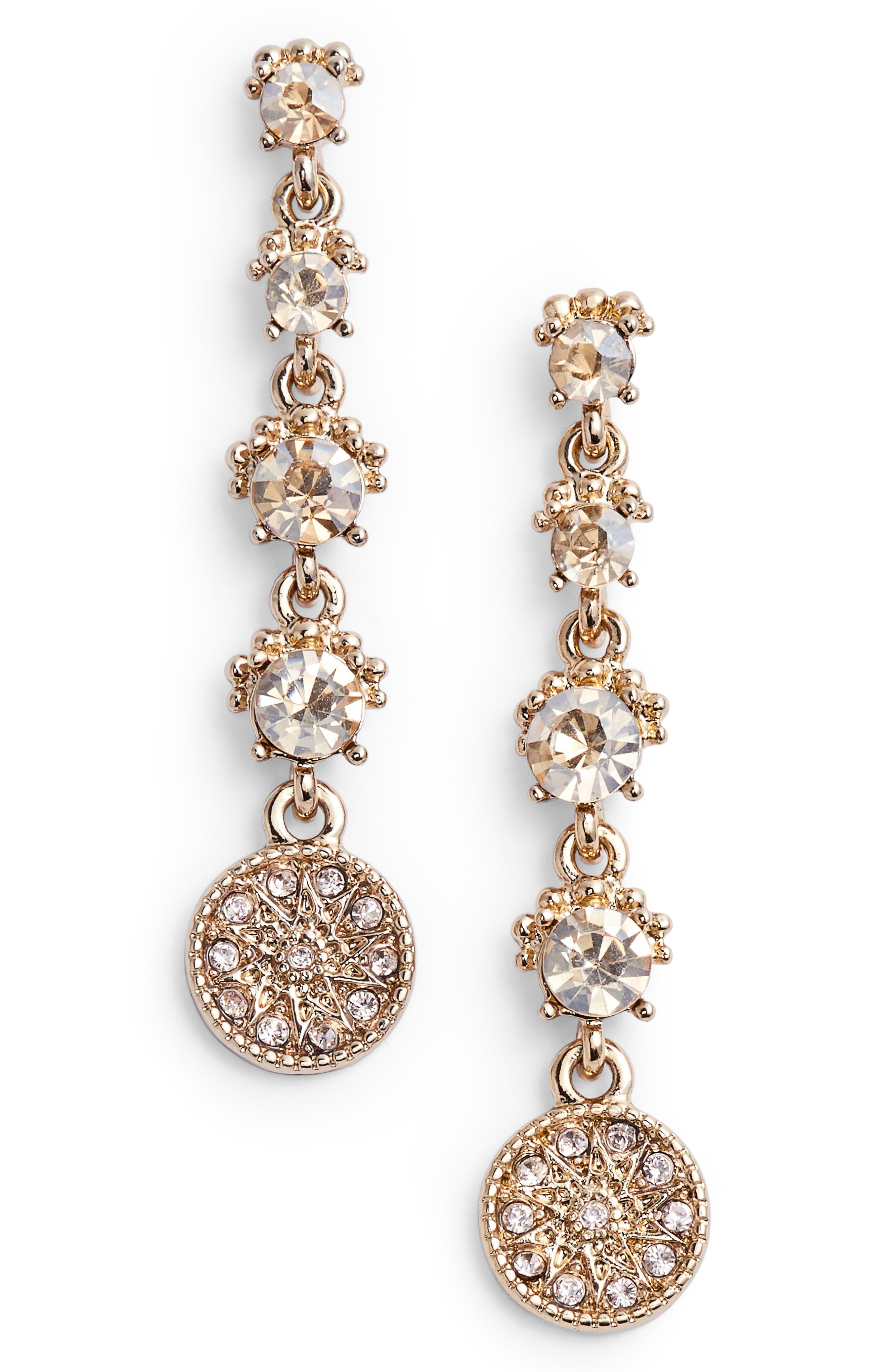 MARCHESA Linear Earrings