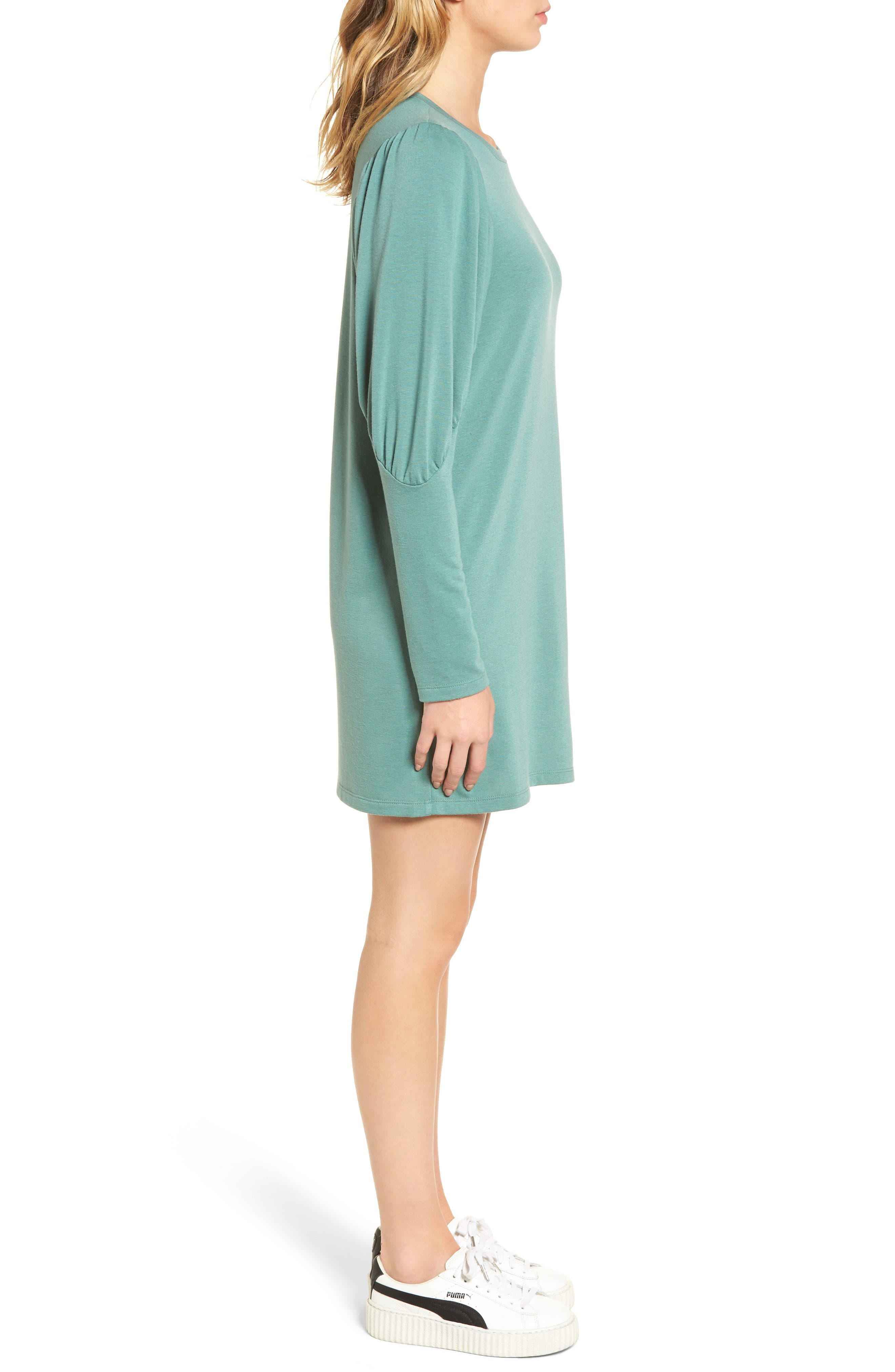 Alternate Image 3  - Everly Statement Sleeve Sweatshirt Dress