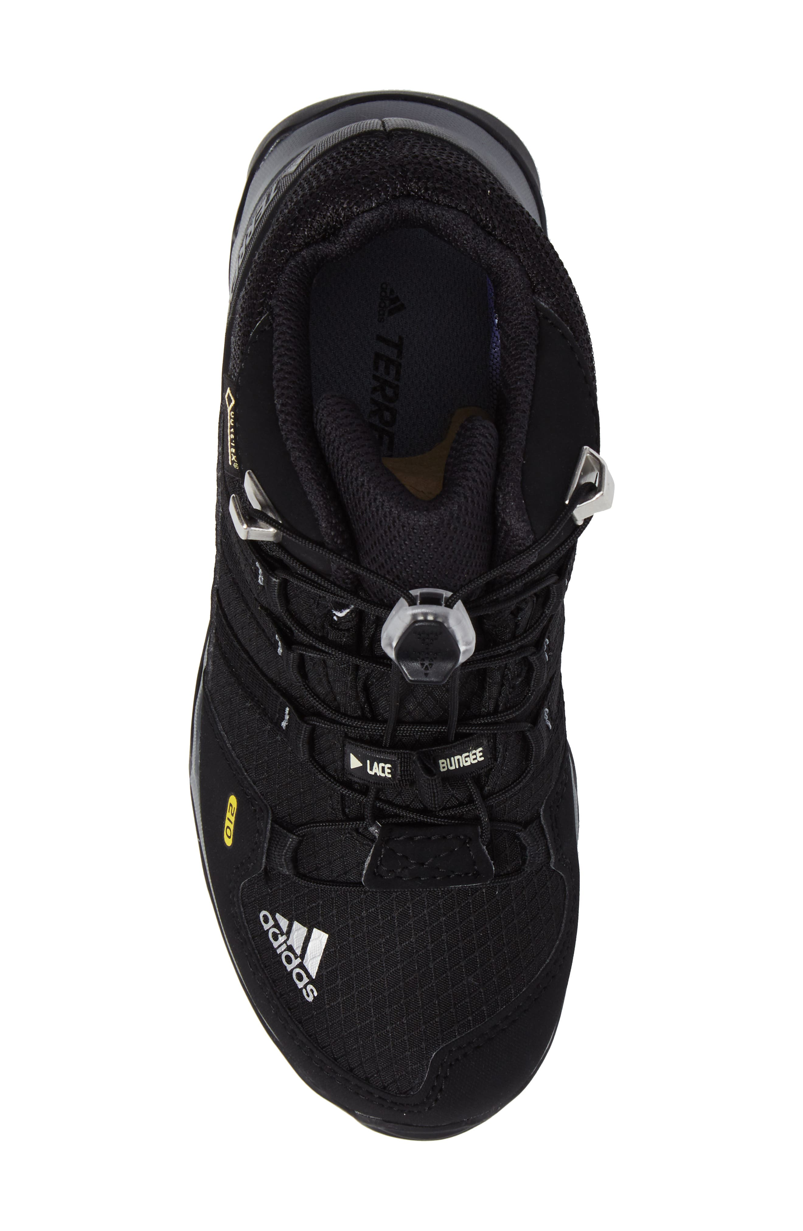 Terrex Mid Gore-Tex<sup>®</sup> Insulated Waterproof Sneaker Boot,                             Alternate thumbnail 5, color,                             Black/ Black/ Vista Grey